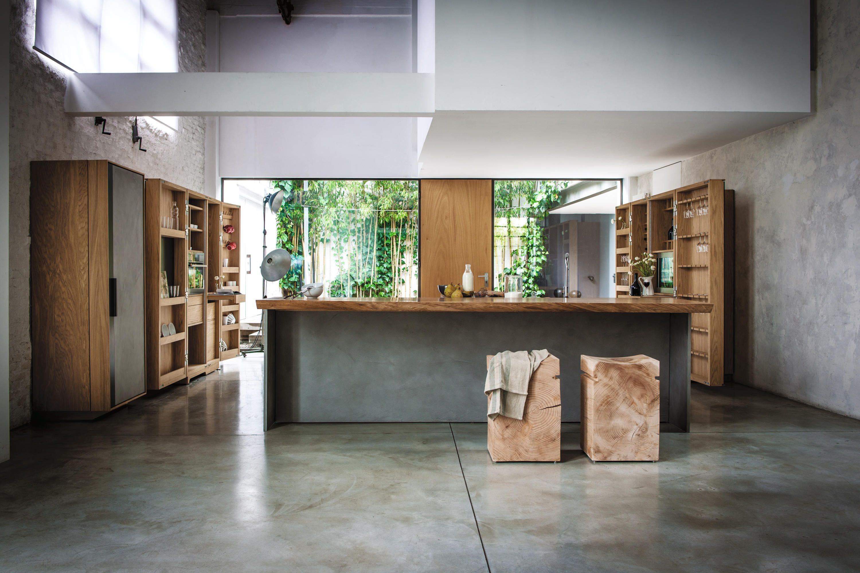La cucina cucine parete riva architonic
