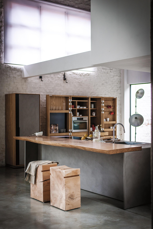 La cucina cucine a parete riva 1920 architonic - Cucine a parete ...