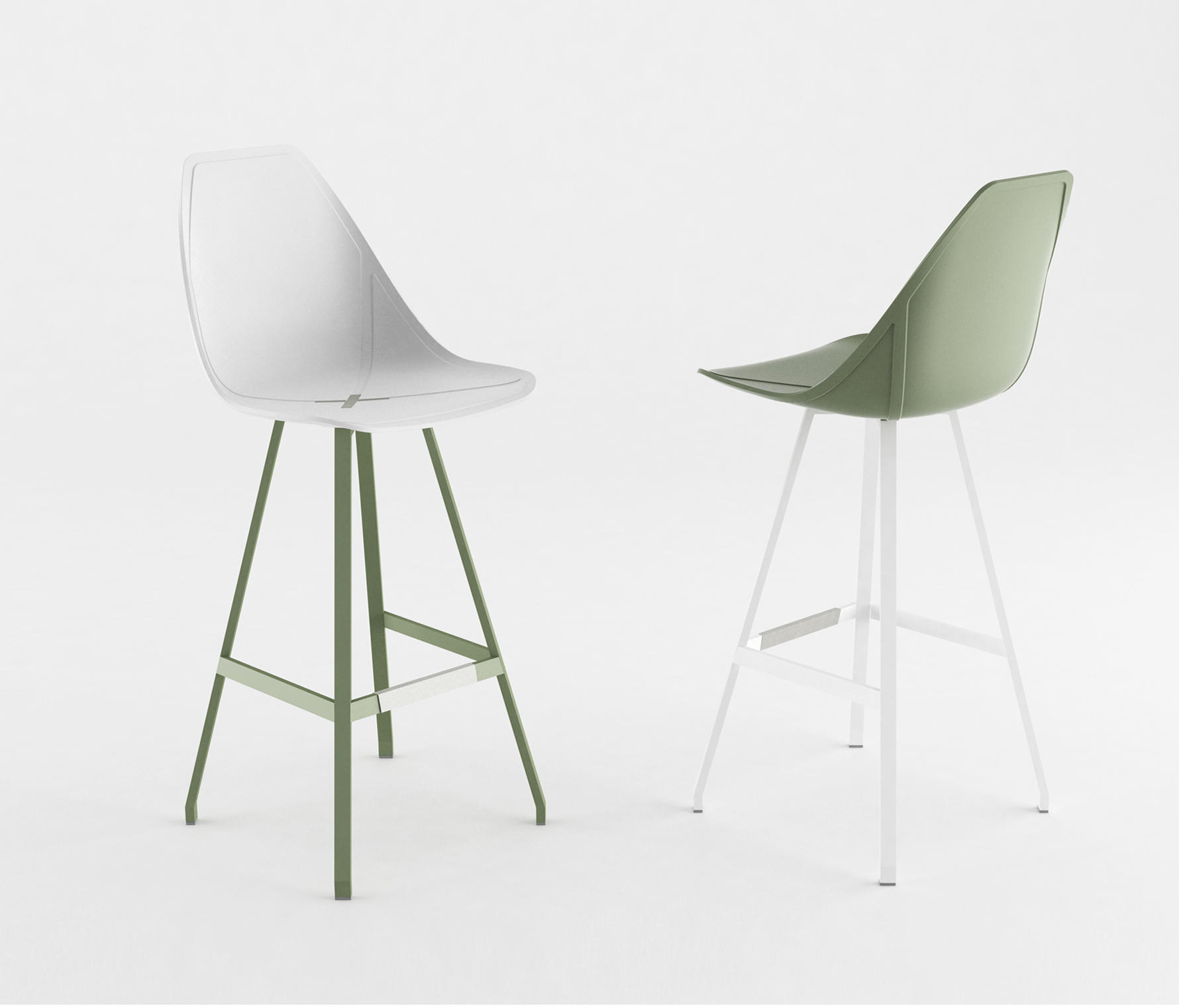 X CHAIR Restaurant chairs from ALMA Design
