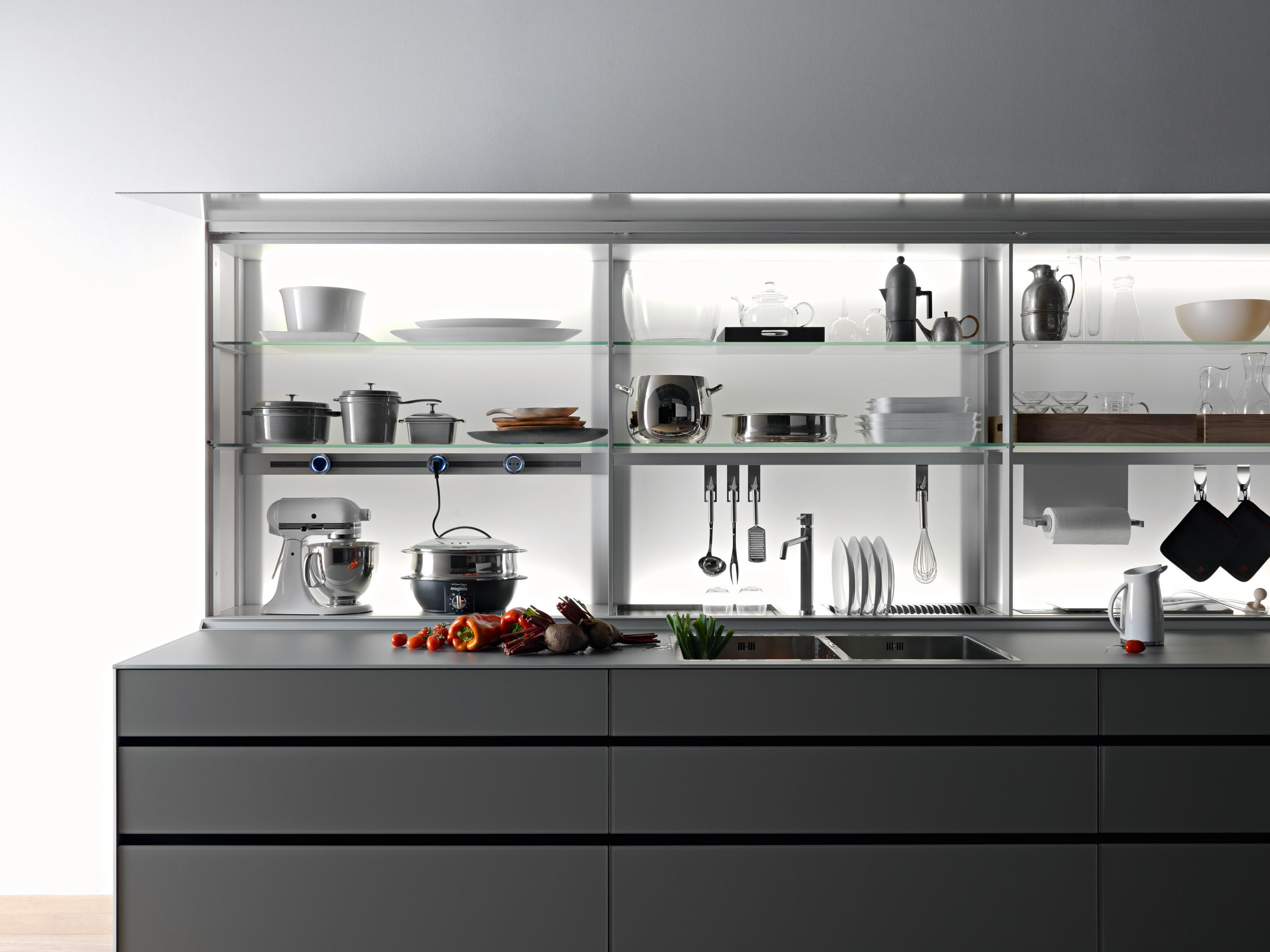 New logica system isola architonic for Cucine valcucine