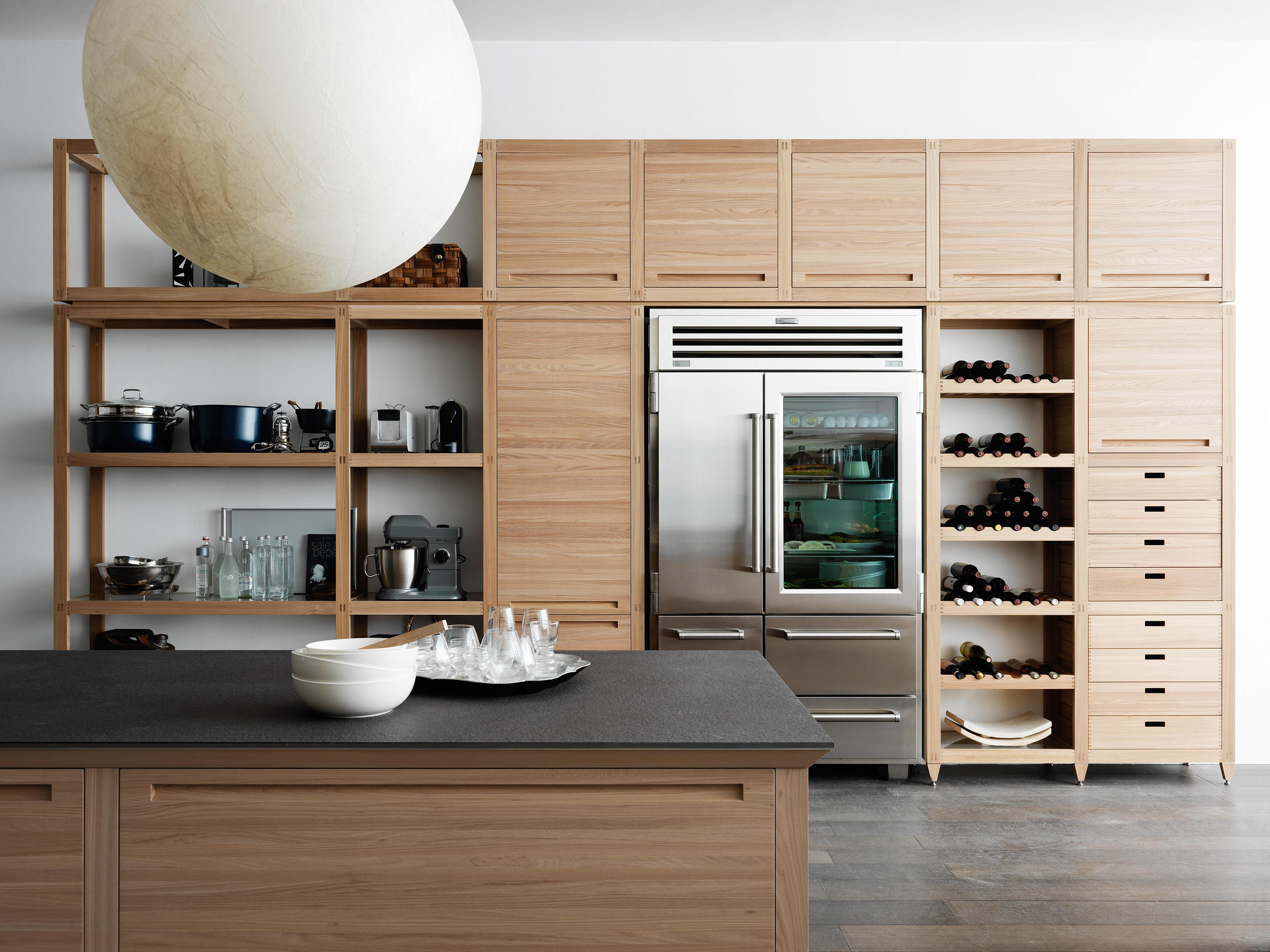 Sine tempore fitted kitchens from valcucine architonic for Valcucine prezzi