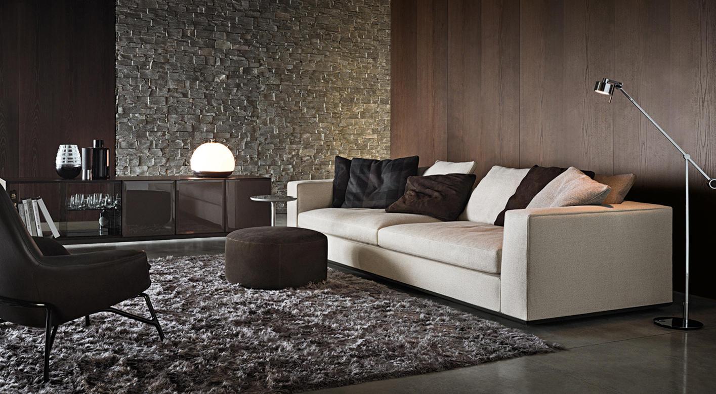 minotti lighting. powell112 couch by minotti lighting