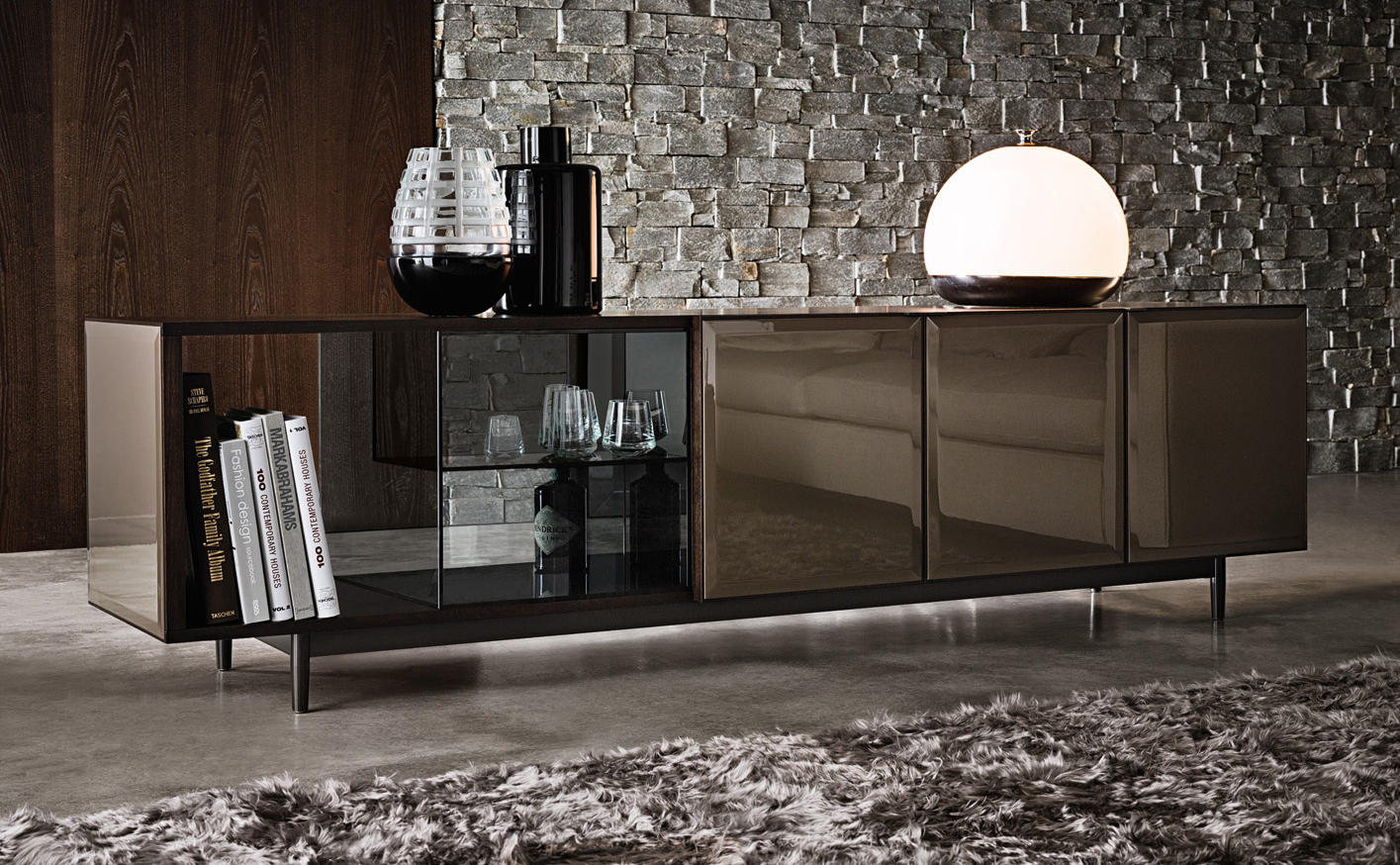 morrison night stands from minotti architonic. Black Bedroom Furniture Sets. Home Design Ideas
