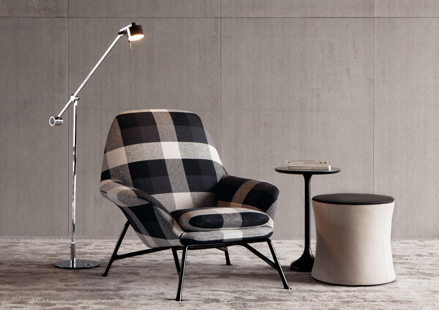Prince armchairs from minotti architonic for Poltrone moderne design