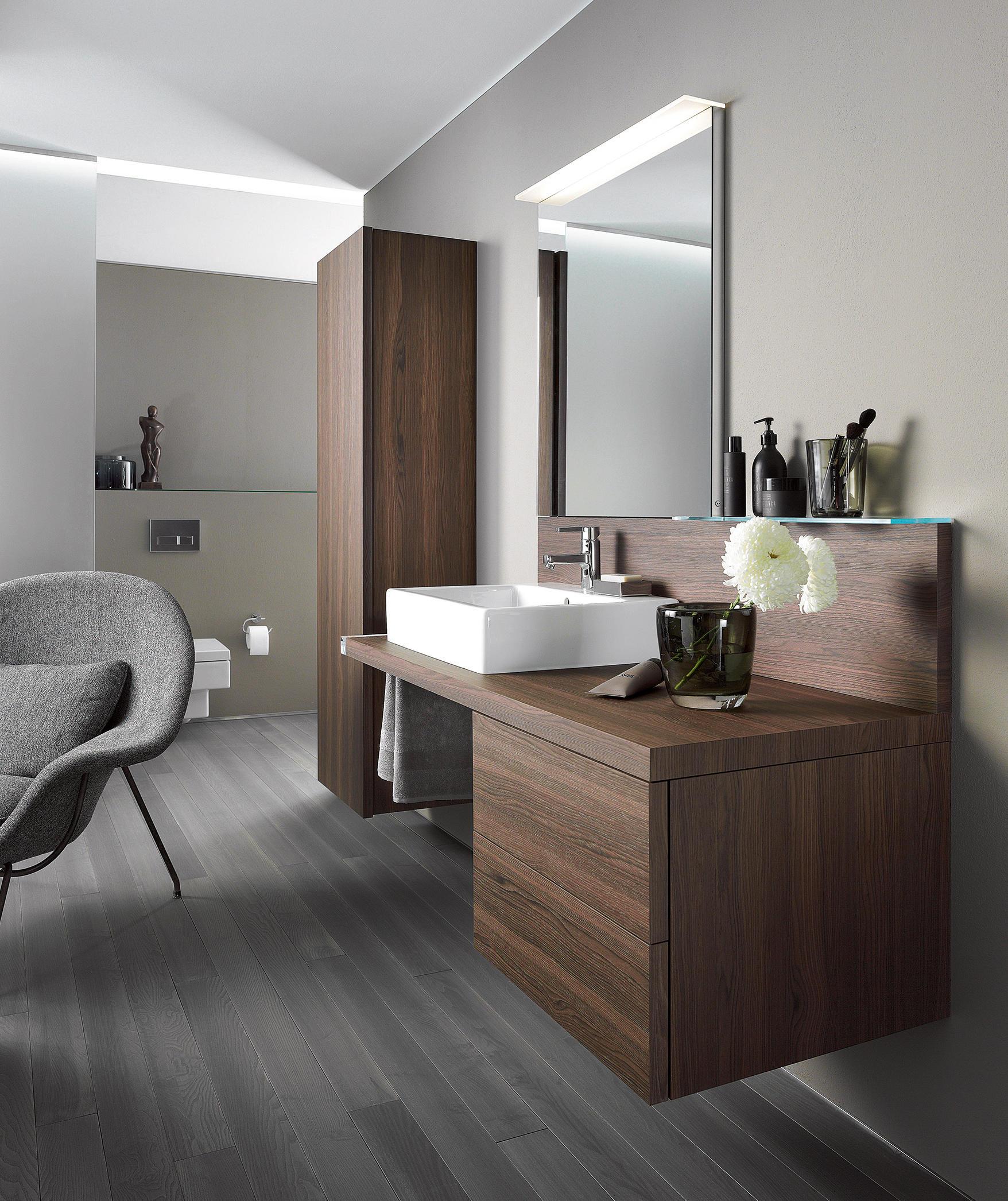 delos konsole mit r ckwand waschpl tze von duravit. Black Bedroom Furniture Sets. Home Design Ideas