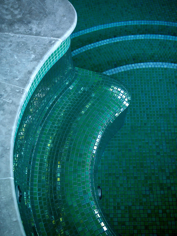 Metal Rubi Glass Mosaics From Ezarri Architonic