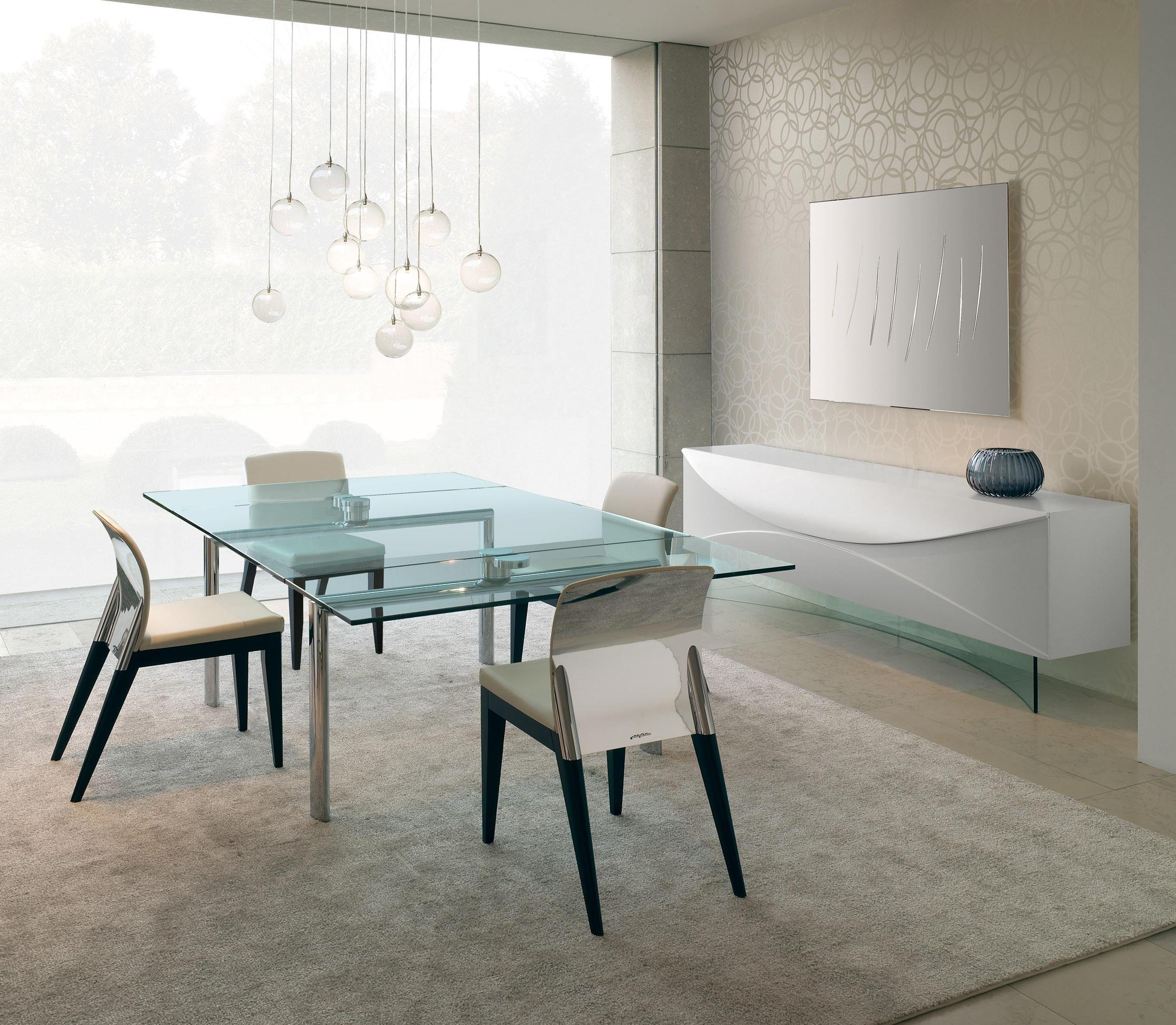 Tavoli Cristallo Allungabili Reflex.Policleto Allungabile Mobili Designer Architonic