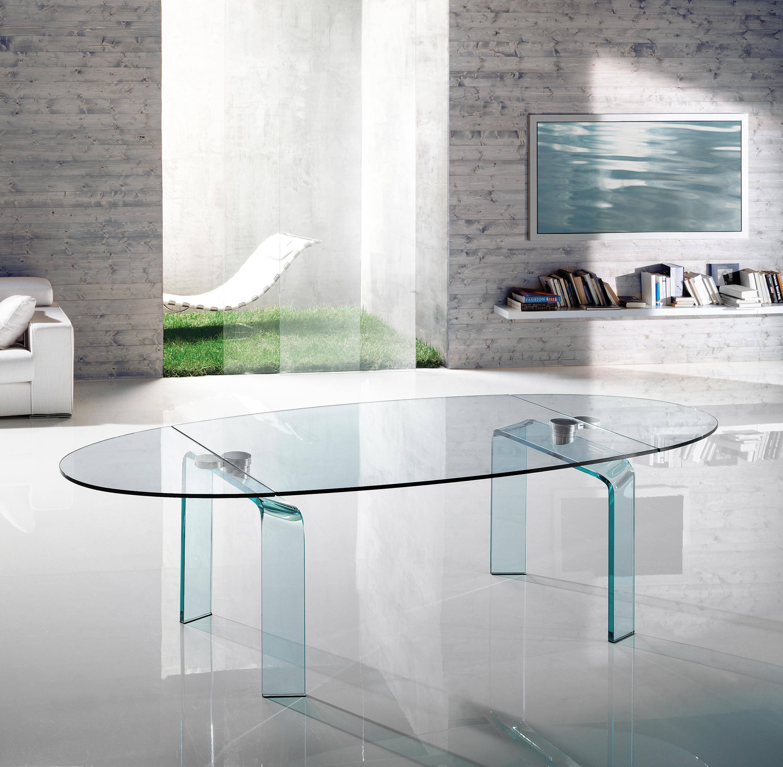 Tavoli In Cristallo Allungabili Reflex.Policleto Allungabile Mobili Designer Architonic