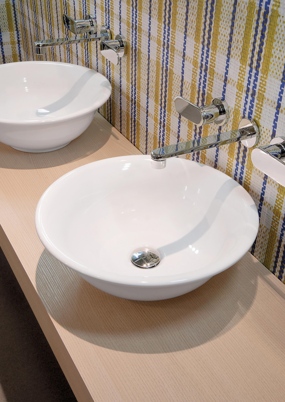 Boll acquababy lavabo lavabi lavandini ceramica for Flaminia lavabi