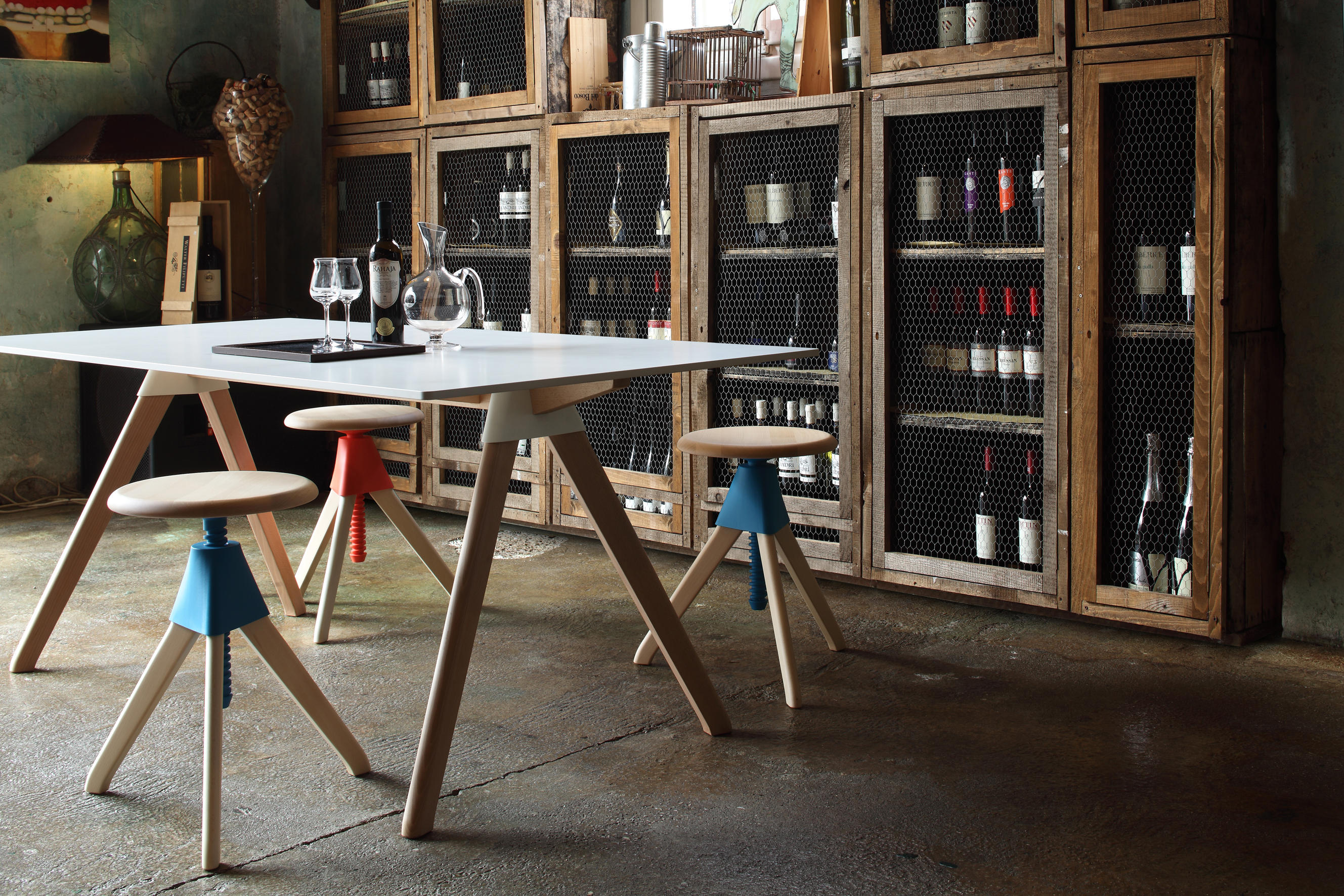 Topsy Dining Tables From Magis Architonic