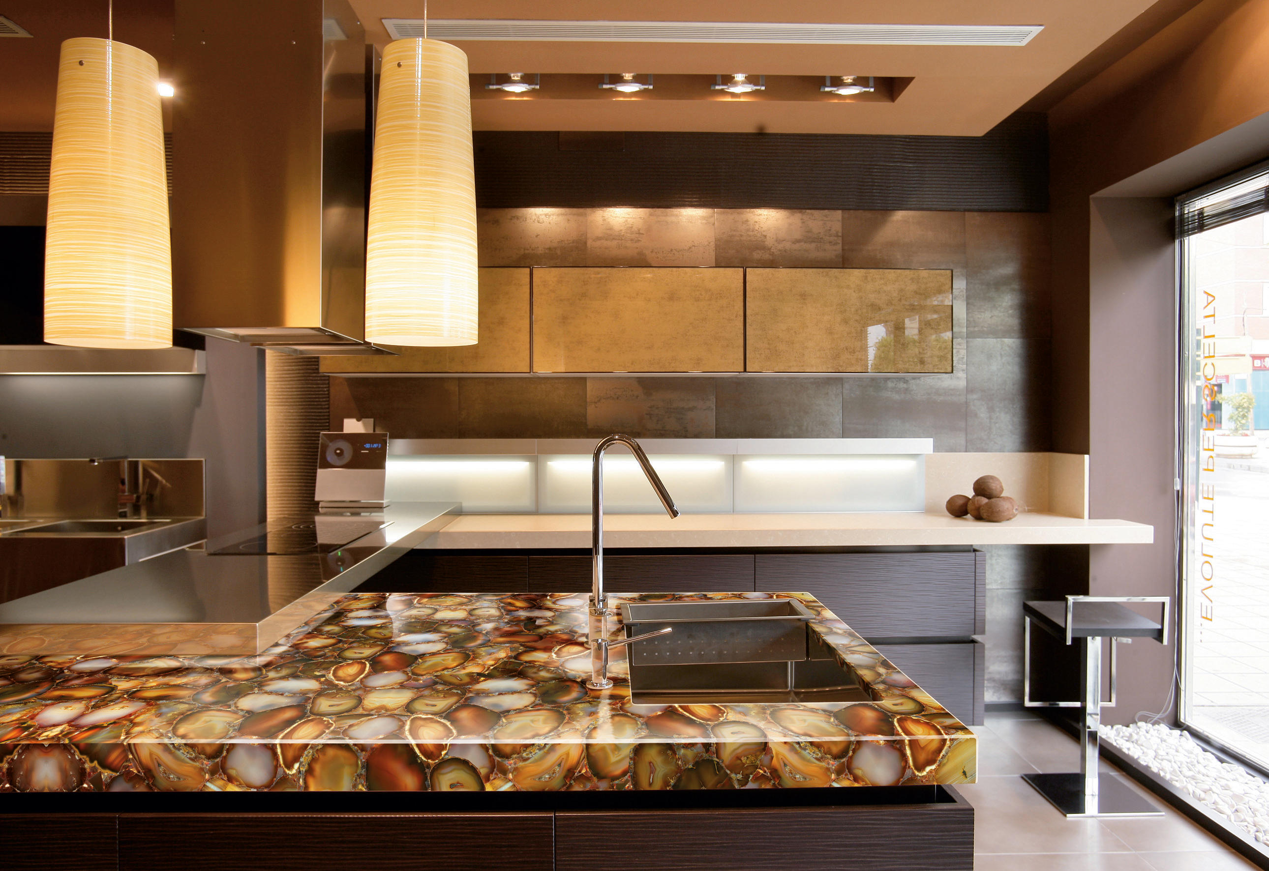 Prexury Amethyst Mineral Composite Panels From Cosentino