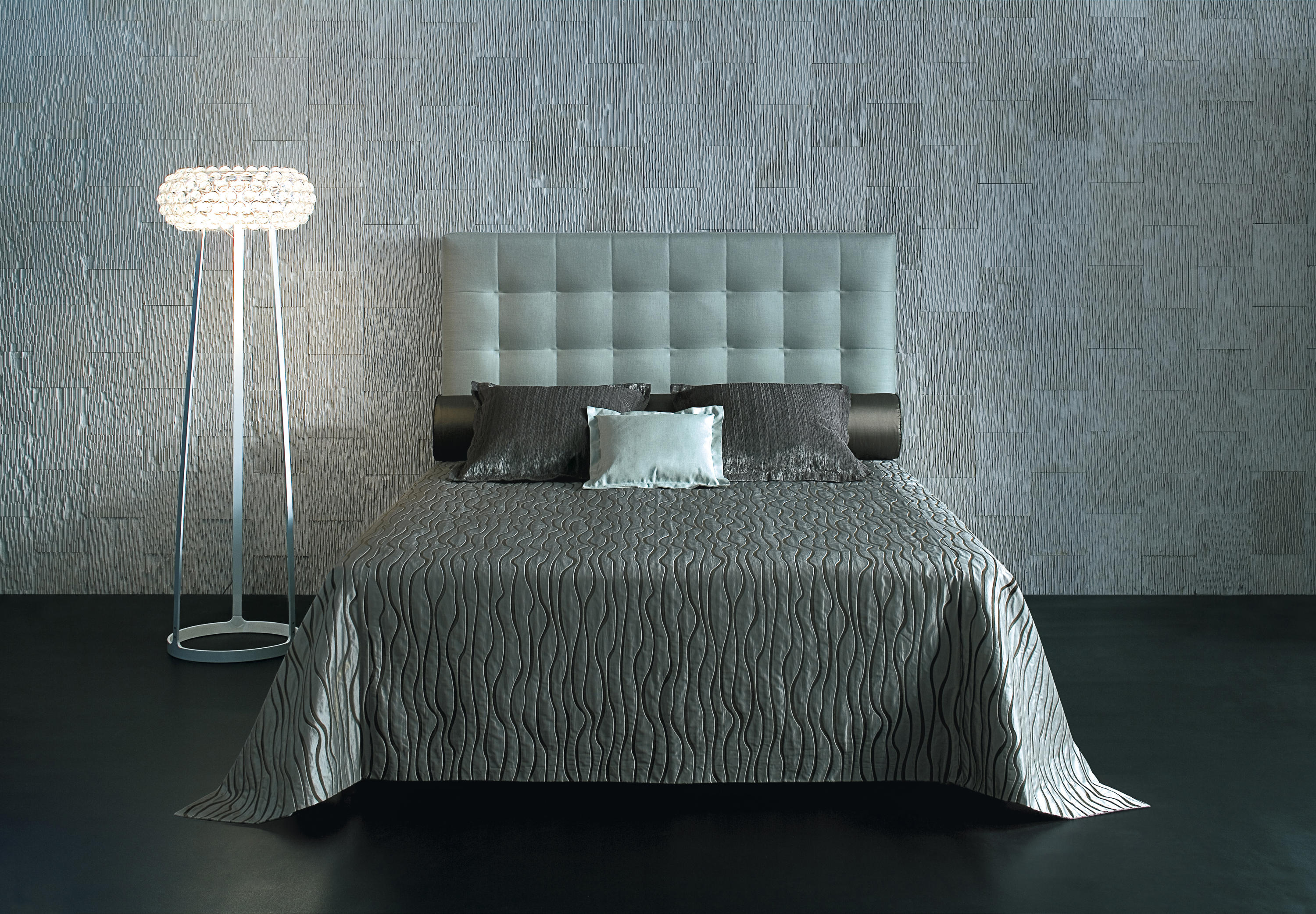 Sleeping systems collection prestige headboard colette by treca paris