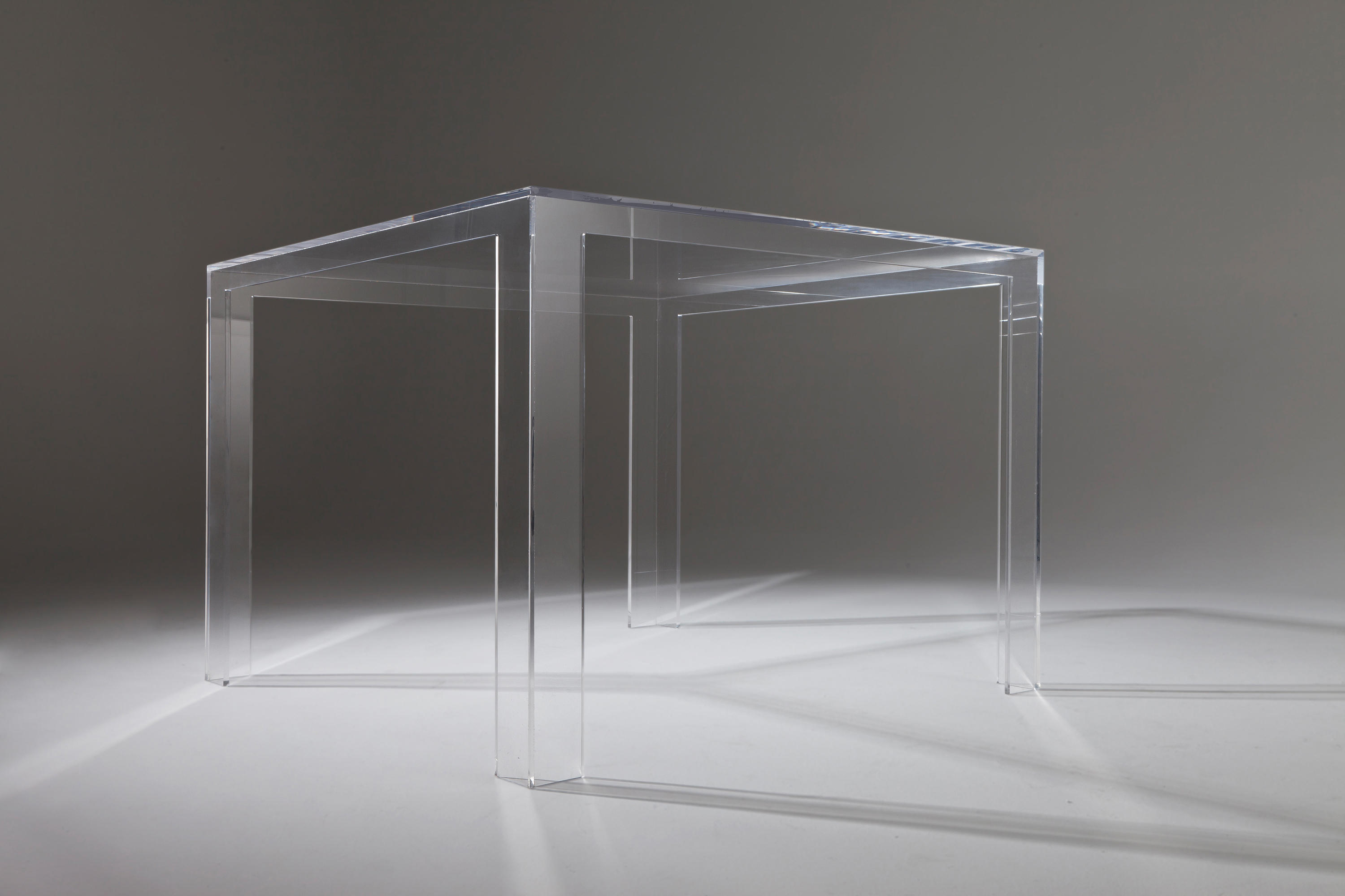 Consolle Invisible Kartell.Invisible Side Coffee Tables From Kartell Architonic