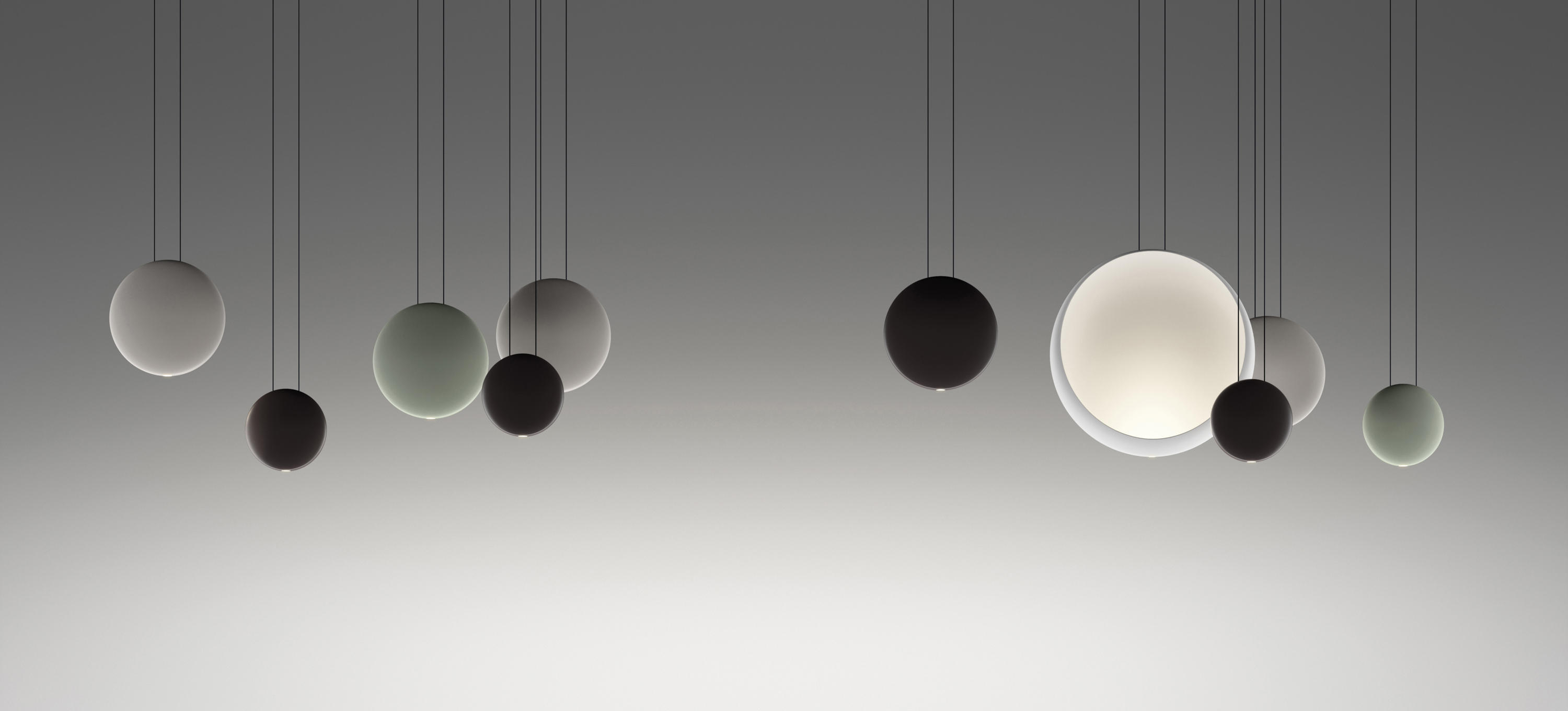 Cosmos 2500 Pendant Lamp Suspended Lights From Vibia