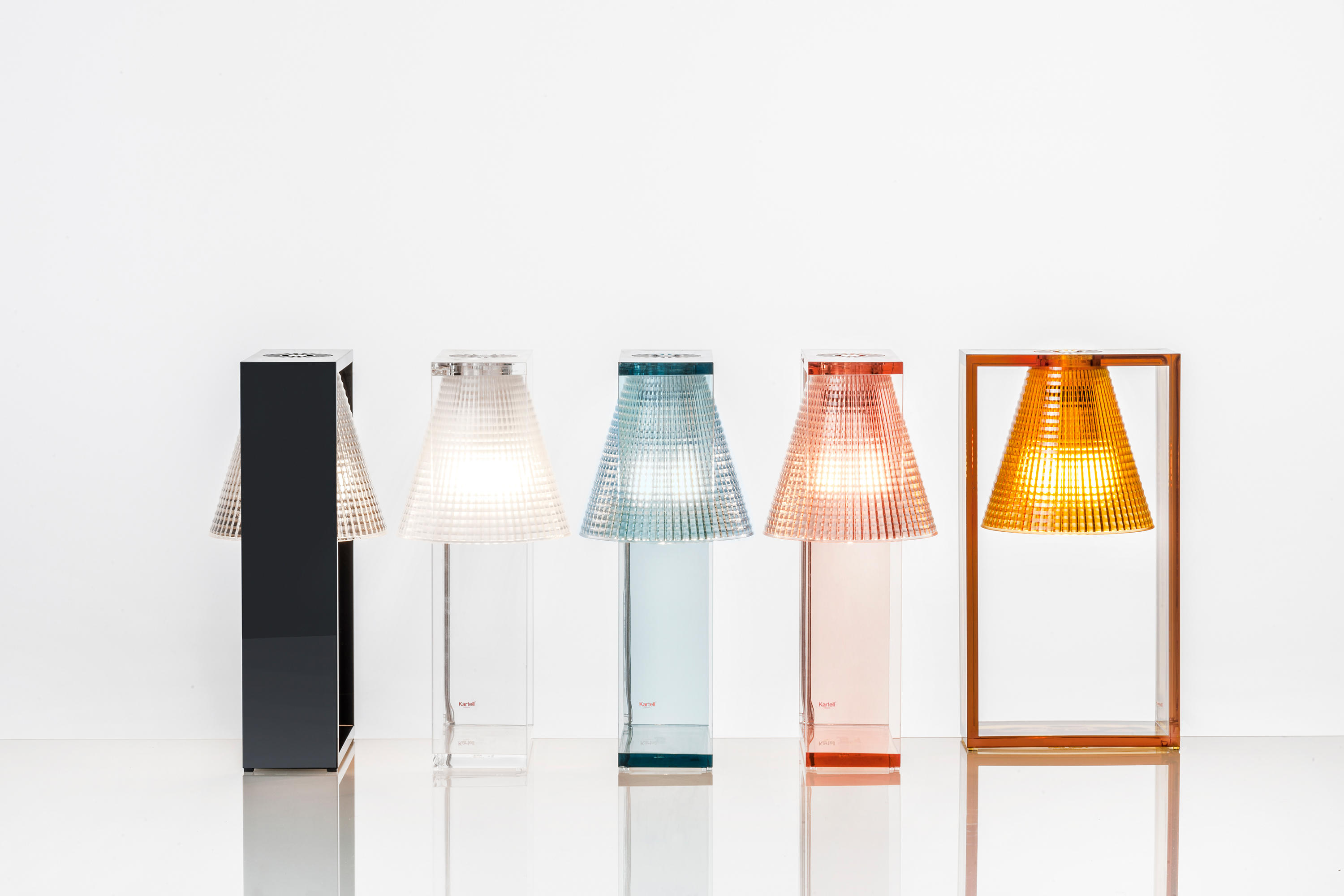 Light air table lights from kartell architonic