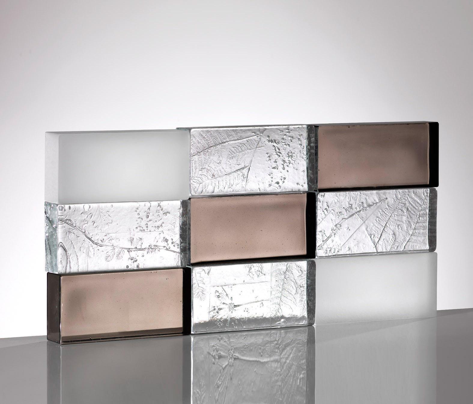 Mattoni in vetro herbarium vetri decorativi poesia for Disegni di blocchi di cemento casa