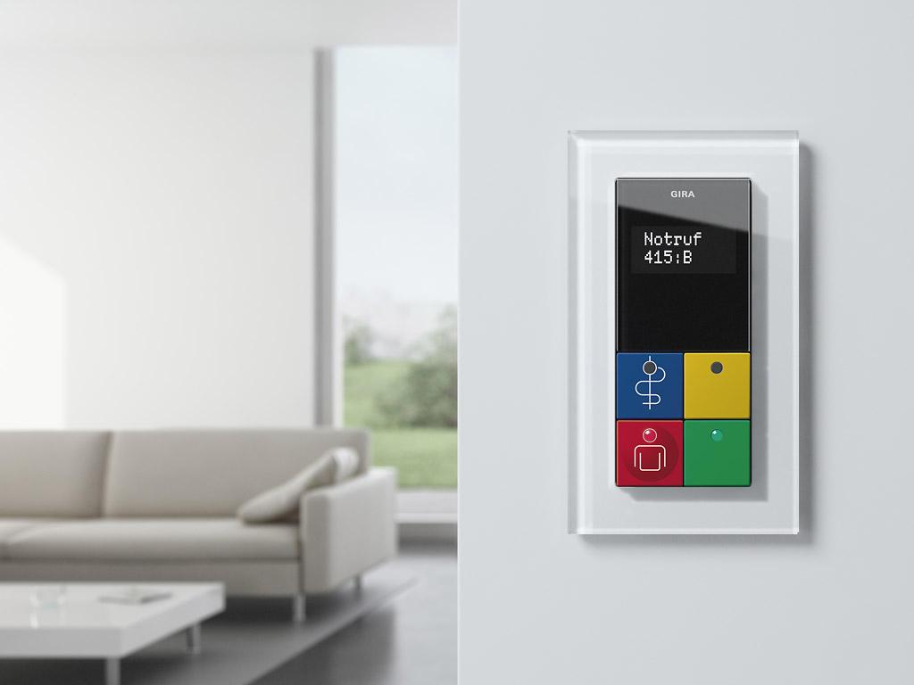 esprit glas wippschalter wippschalter von gira. Black Bedroom Furniture Sets. Home Design Ideas