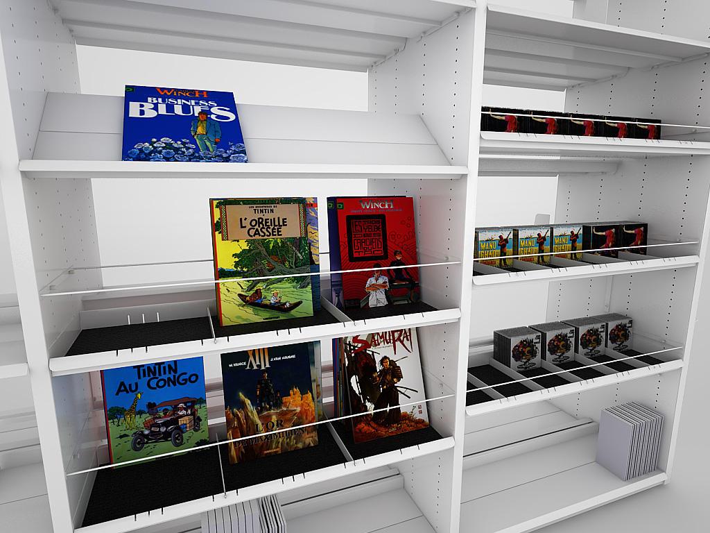 bk 1 tag res pour biblioth ques de idm coupechoux architonic. Black Bedroom Furniture Sets. Home Design Ideas