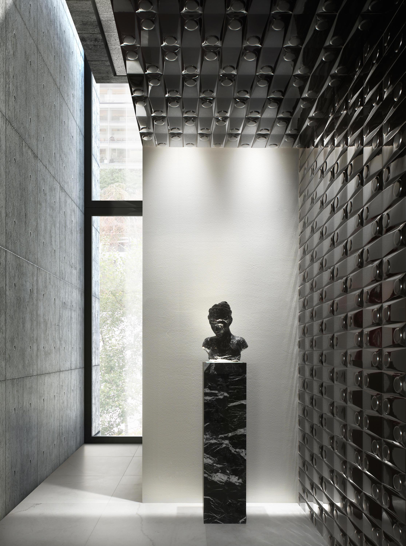goccia single tune in white matt ceramic tiles from. Black Bedroom Furniture Sets. Home Design Ideas
