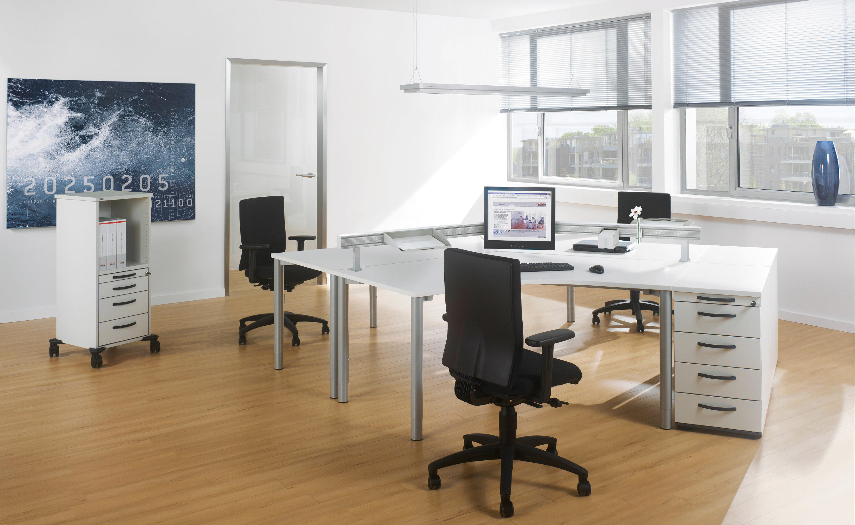 RONDANA DESK - Individual desks from Assmann Büromöbel | Architonic