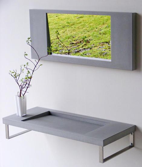 kreta kano betonwaschtisch waschtische von oggi beton. Black Bedroom Furniture Sets. Home Design Ideas