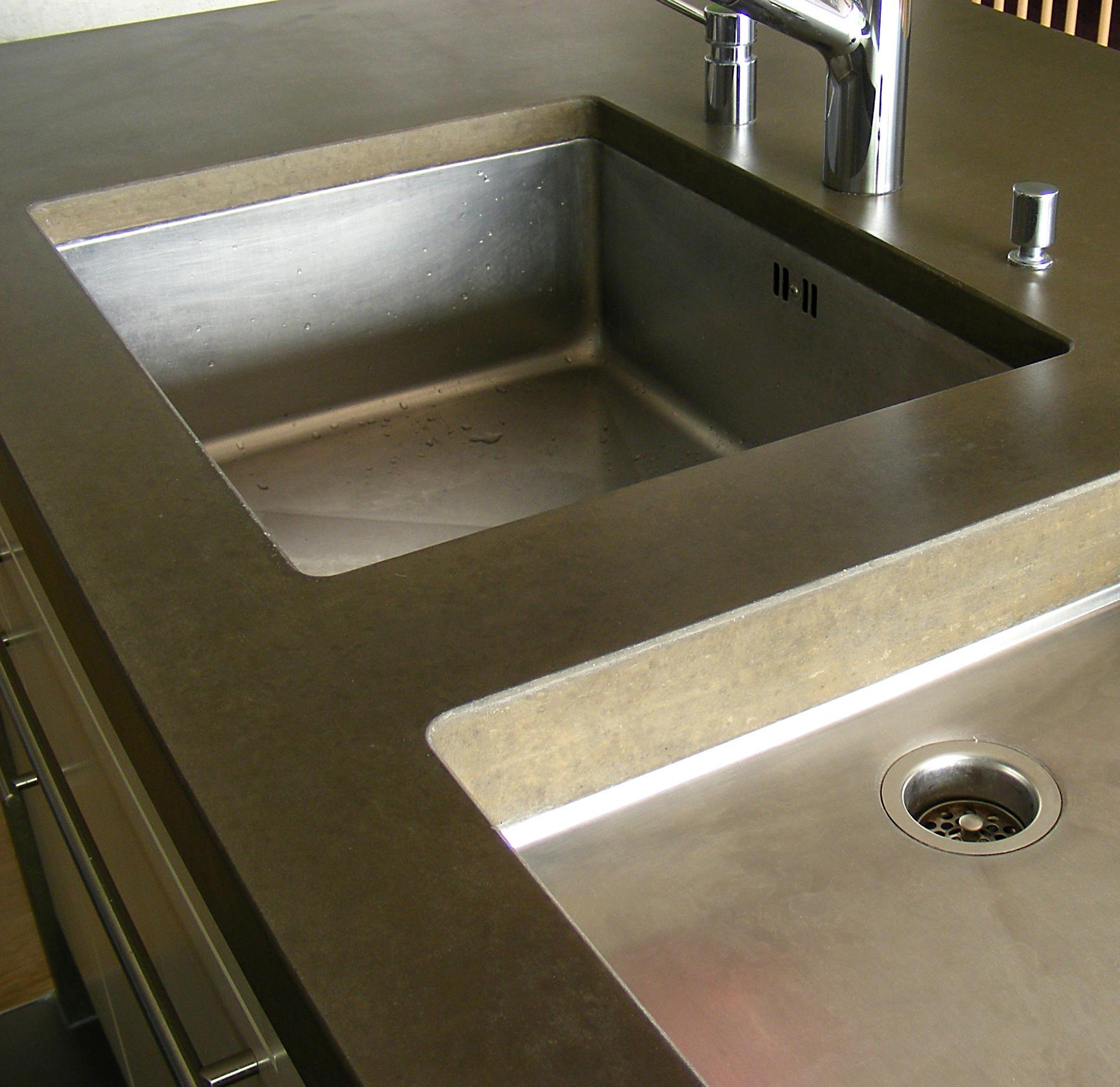 Küchenarbeitsplatte Ausschnittvarianten - von OGGI Beton | ARCHITONIC