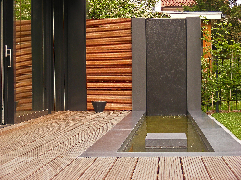 concret water basin - hannover - garden accessories from oggi, Garten und bauen