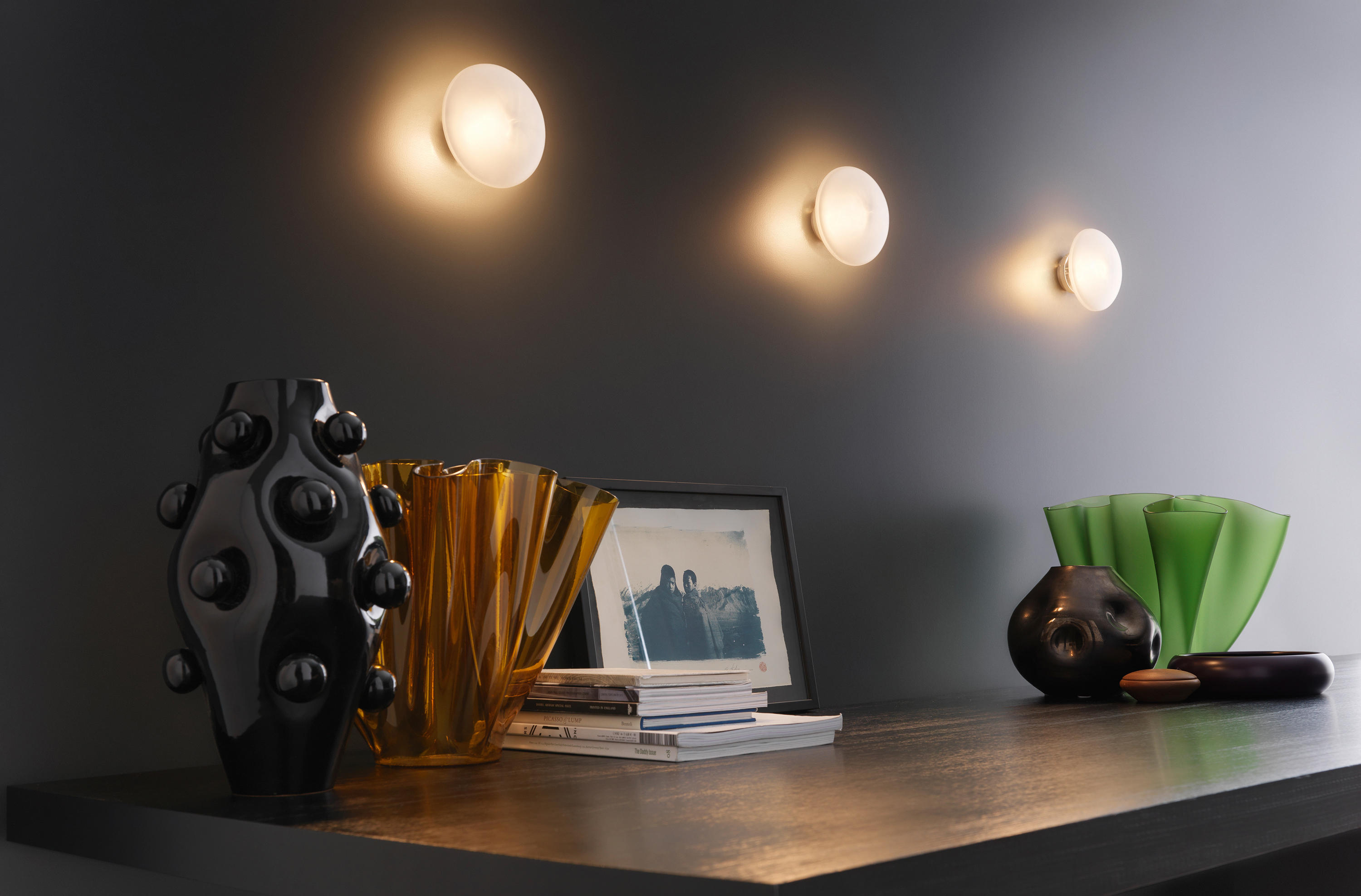 Sillaba wall and ceiling lamp general lighting from for Sillaba fontana arte