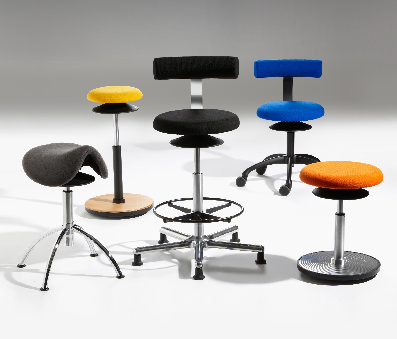 ERGO Lean stools from L–FFLER