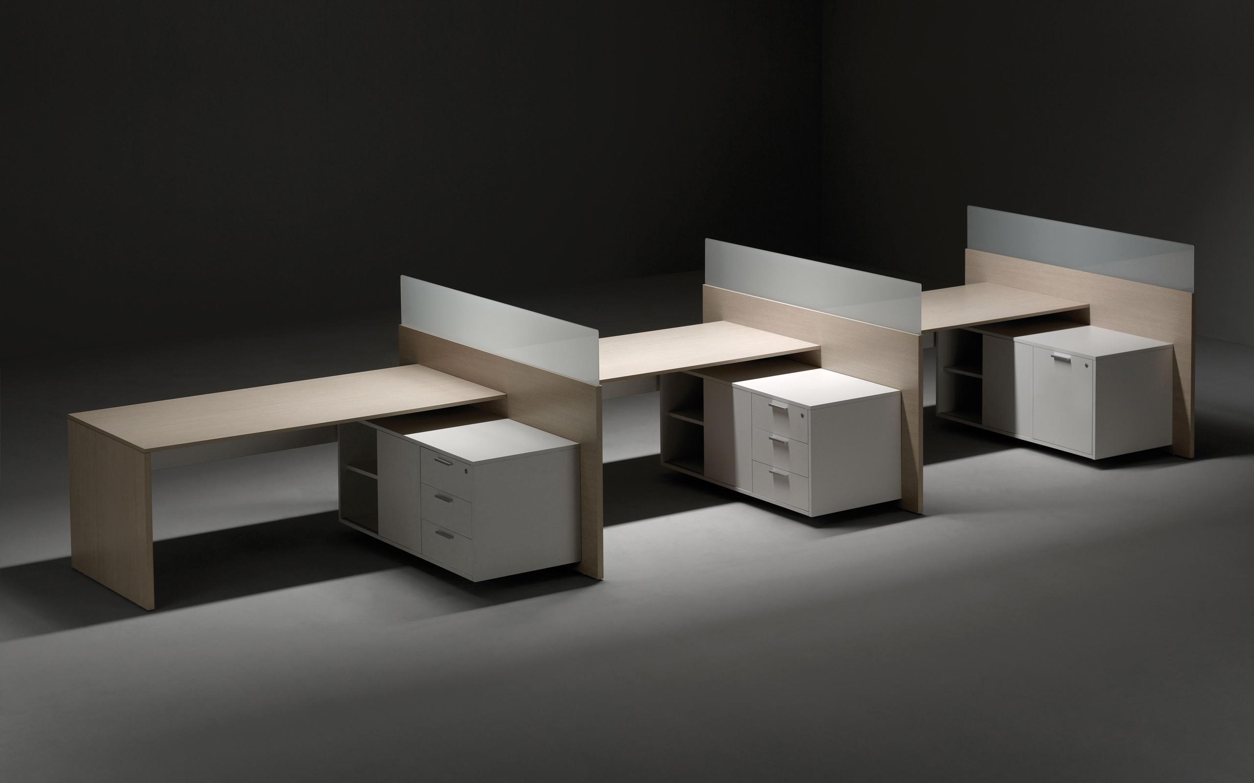 V30 escritorios ejecutivos de forma 5 architonic - Faldones para sillas ...