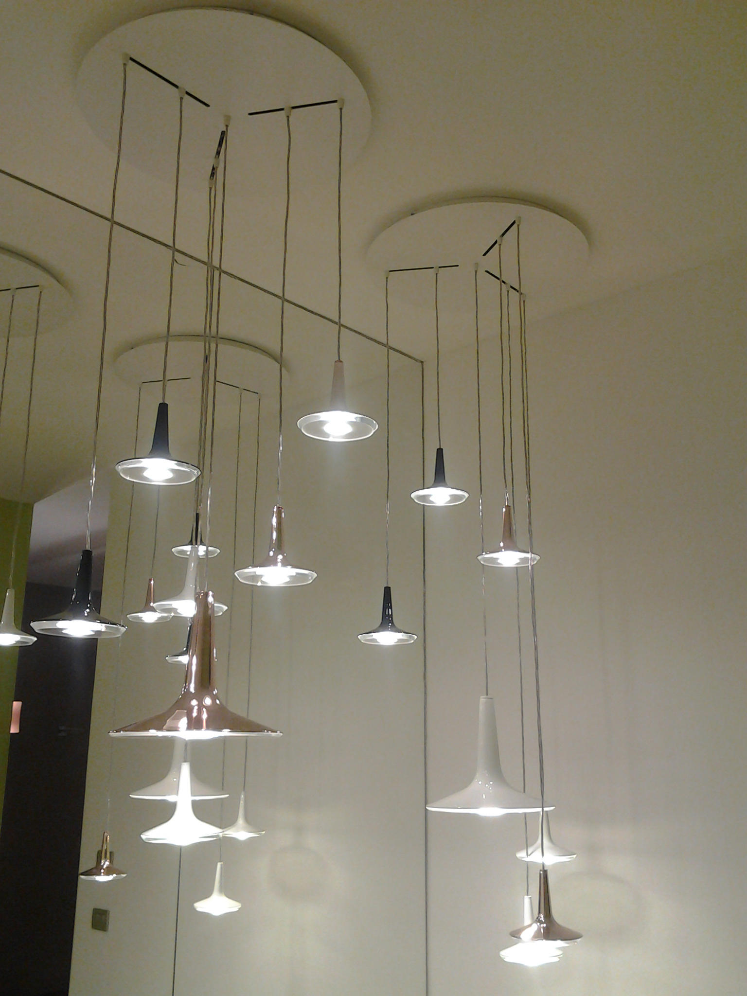 Kin 478 Suspended Lights From Oluce Architonic