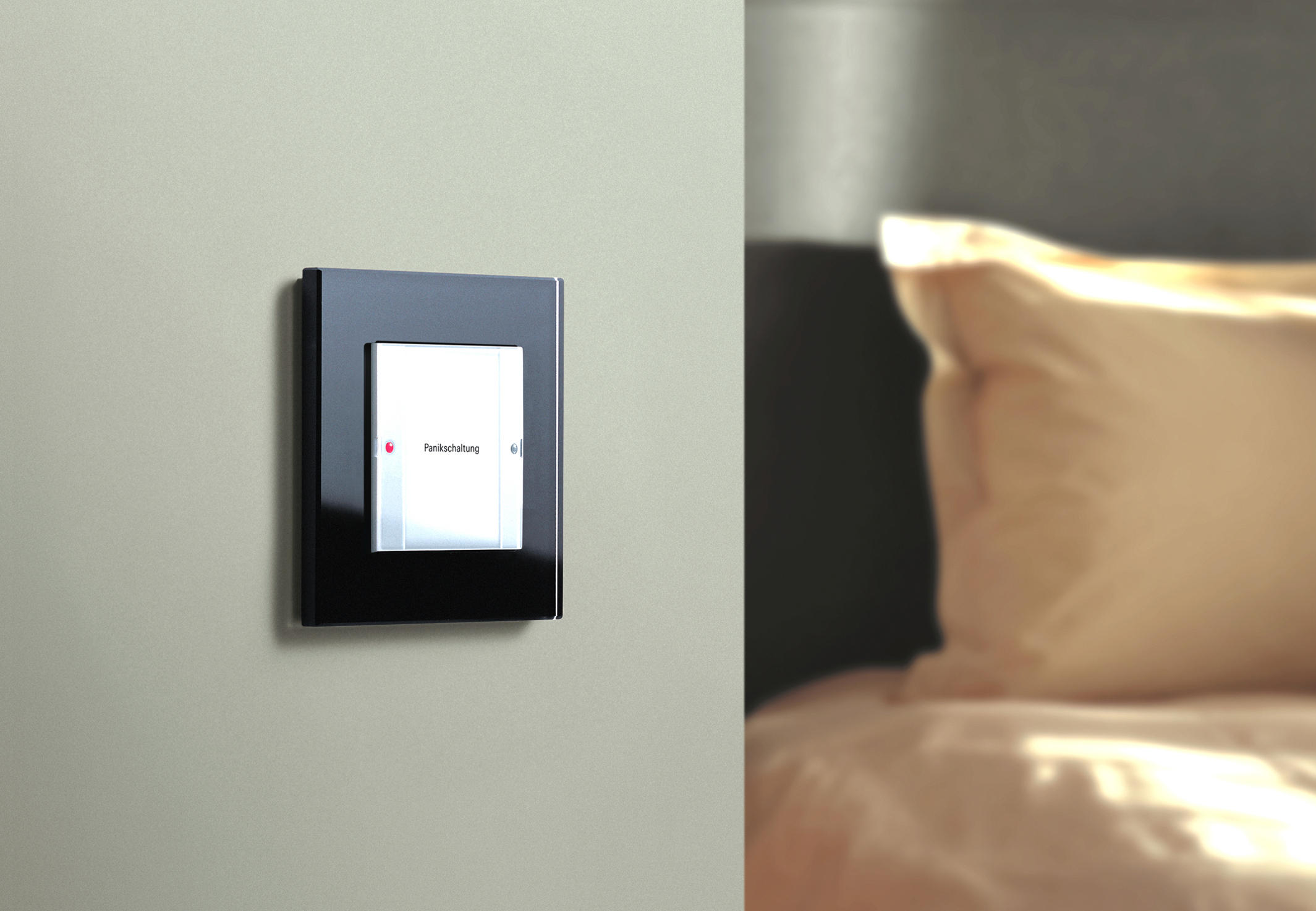 panic switch e22 panic buttons from gira architonic. Black Bedroom Furniture Sets. Home Design Ideas
