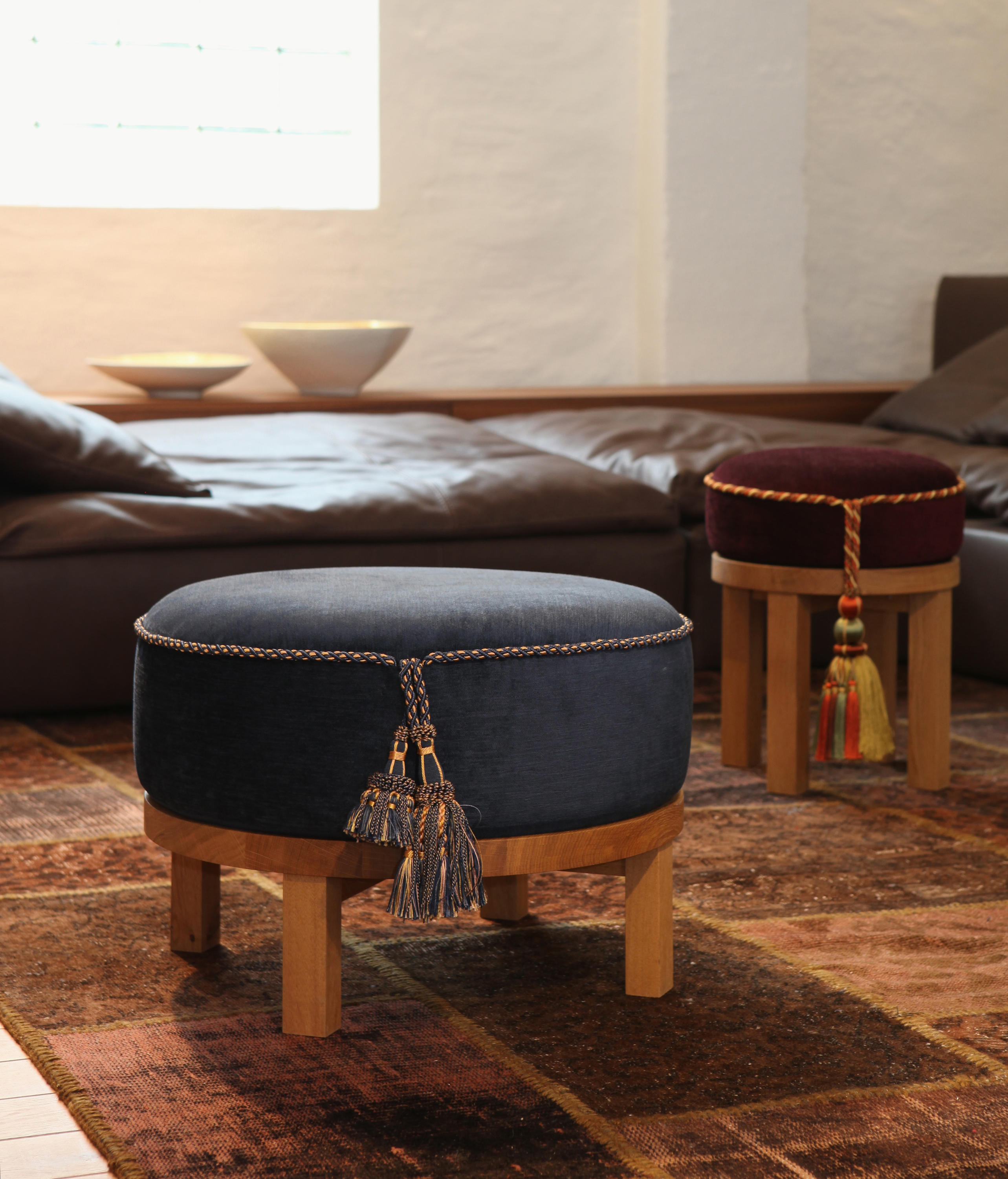 mama 60 hocker poufs from made in taunus architonic. Black Bedroom Furniture Sets. Home Design Ideas