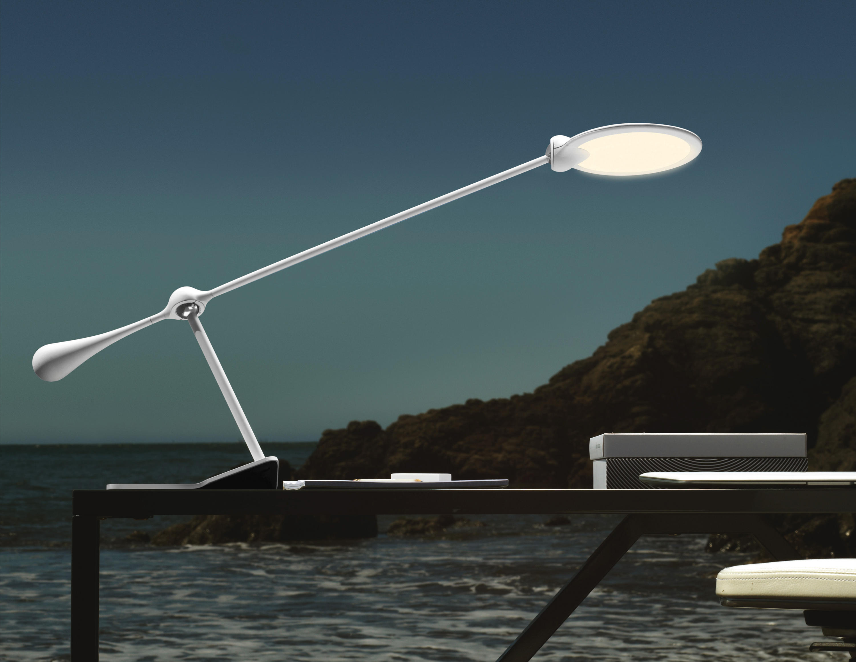 Trapeze Led Table Light Large Table Lights From Light