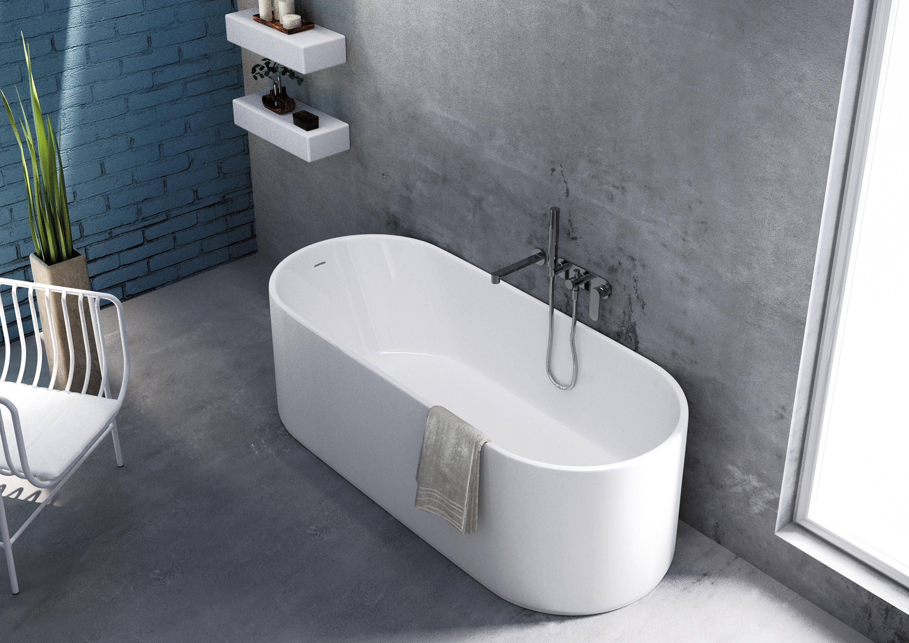 OVAL - Bathtubs from Ceramica Flaminia | Architonic