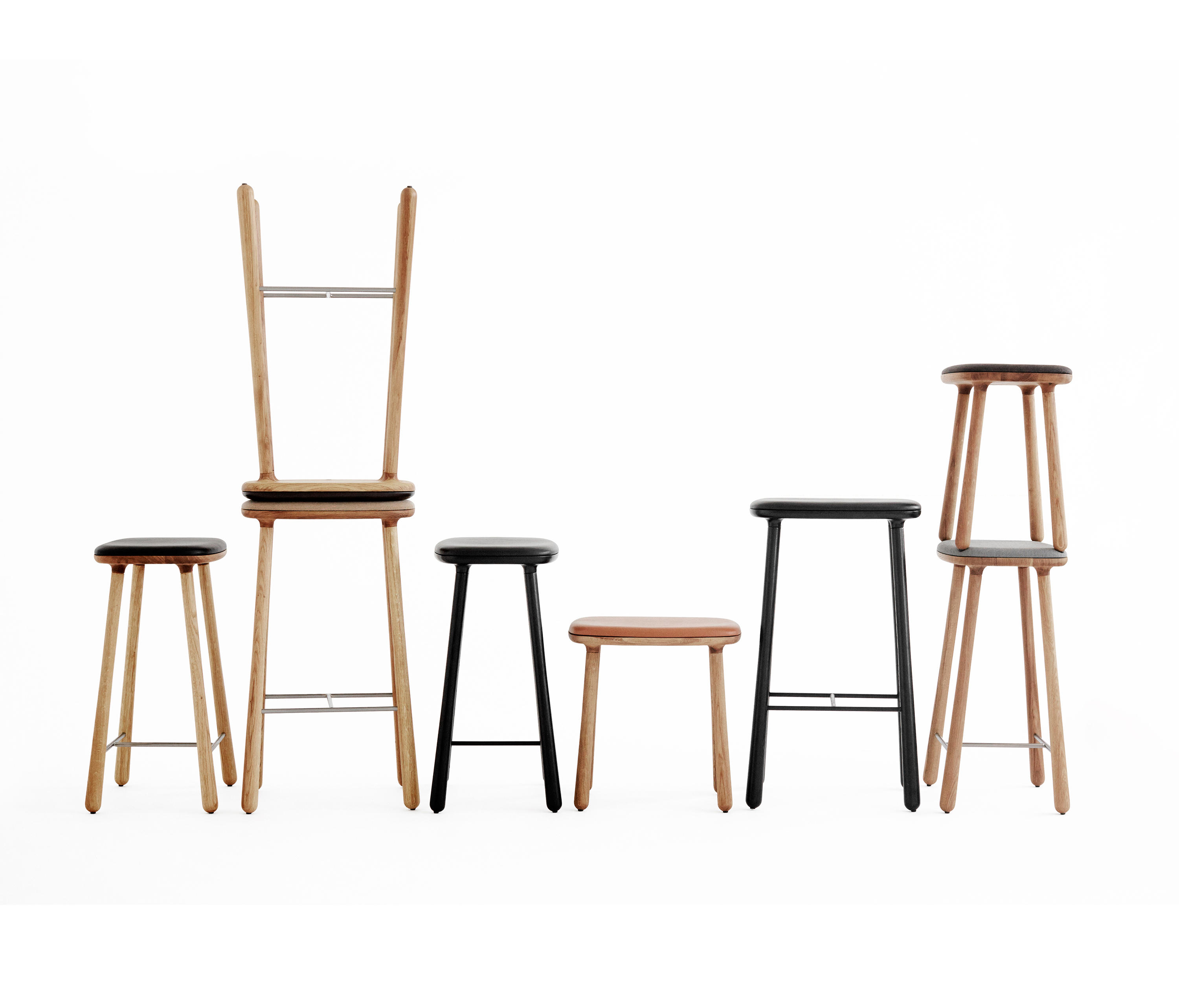 cuba 46 stools from m bel copenhagen architonic. Black Bedroom Furniture Sets. Home Design Ideas