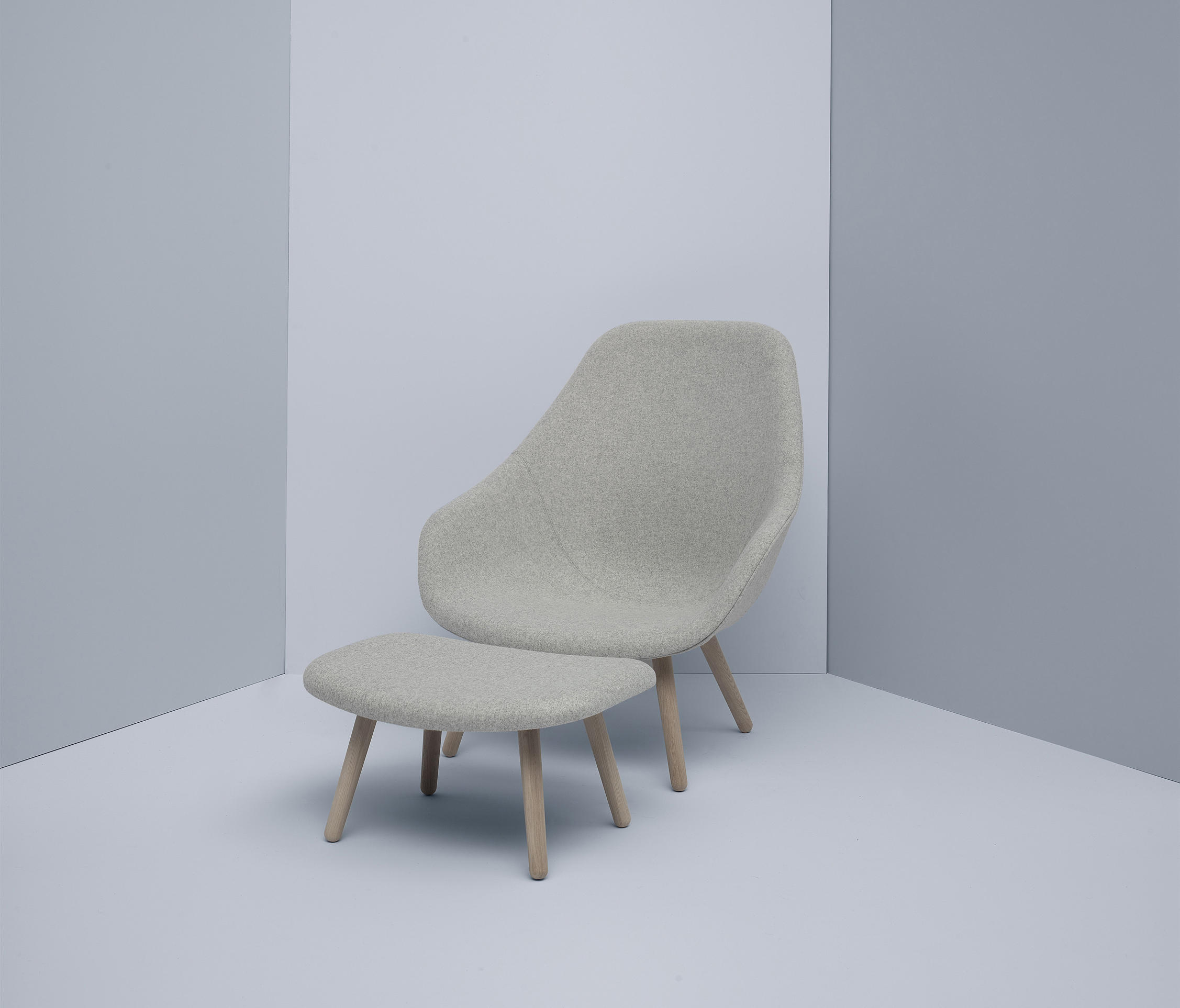 About A Lounge Chair Aal81 Armchairs From Hay Architonic