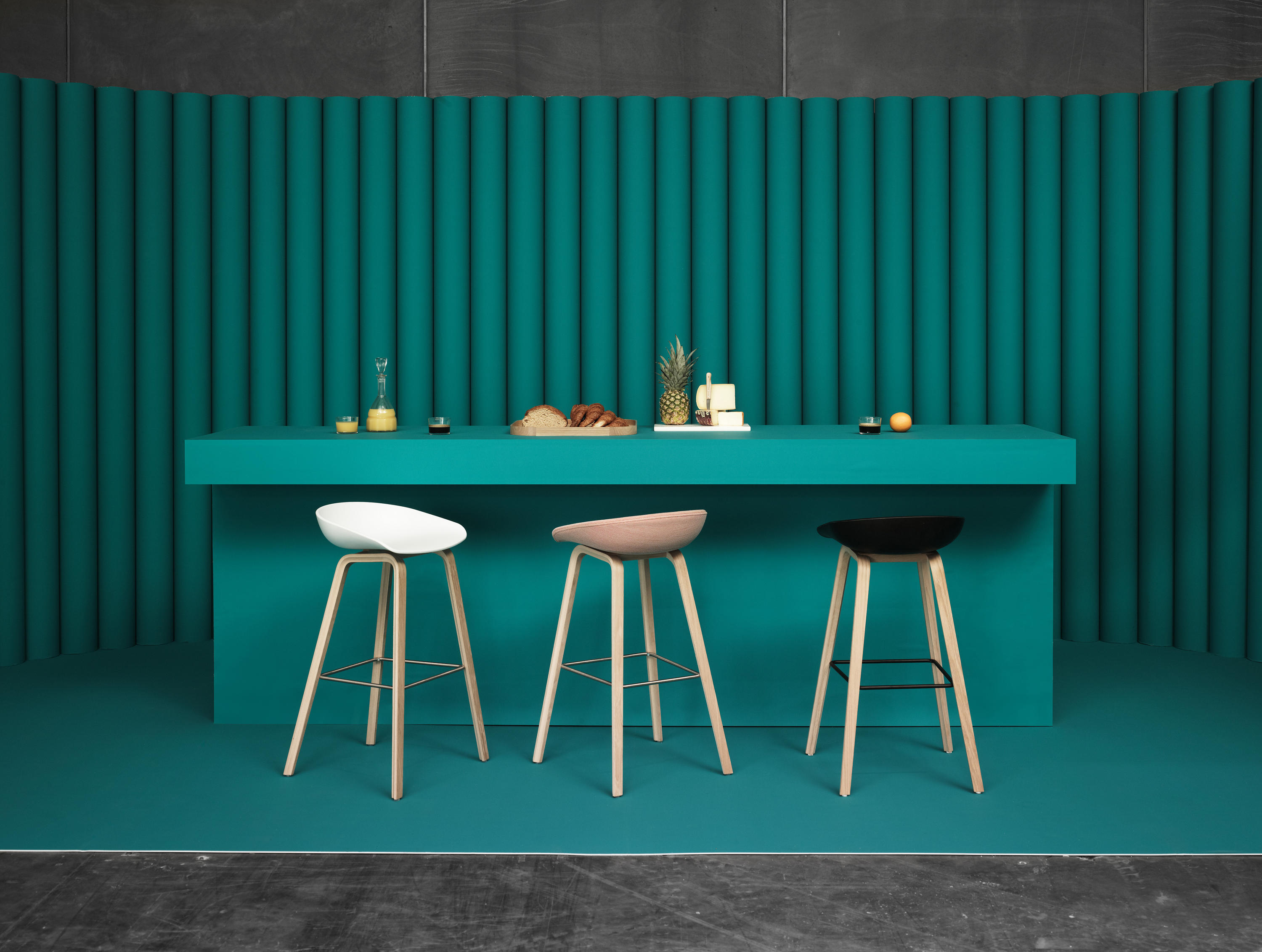 About a stool aas32 barhocker von hay architonic