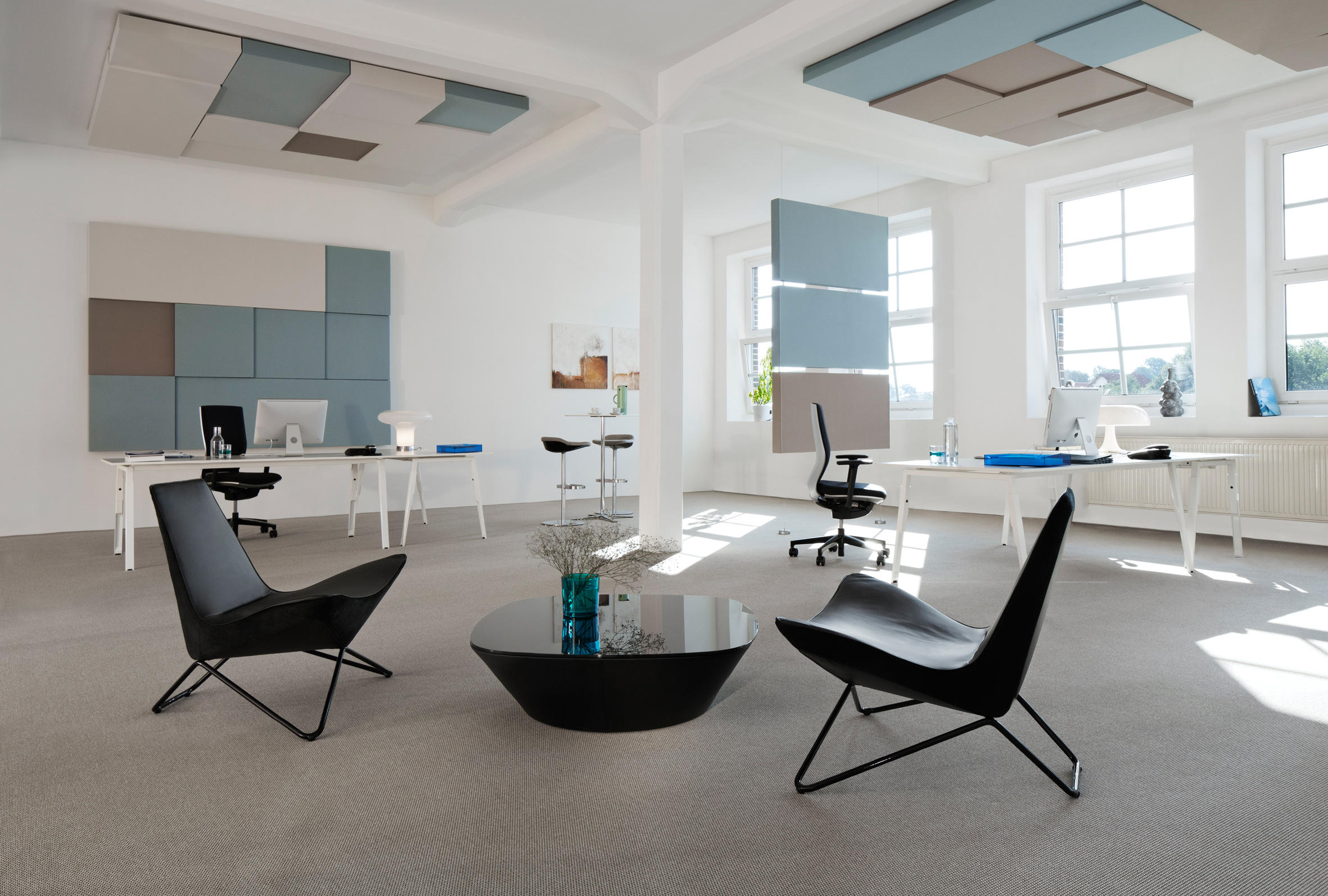 Cas cube deckensysteme von carpet concept architonic for Office design services
