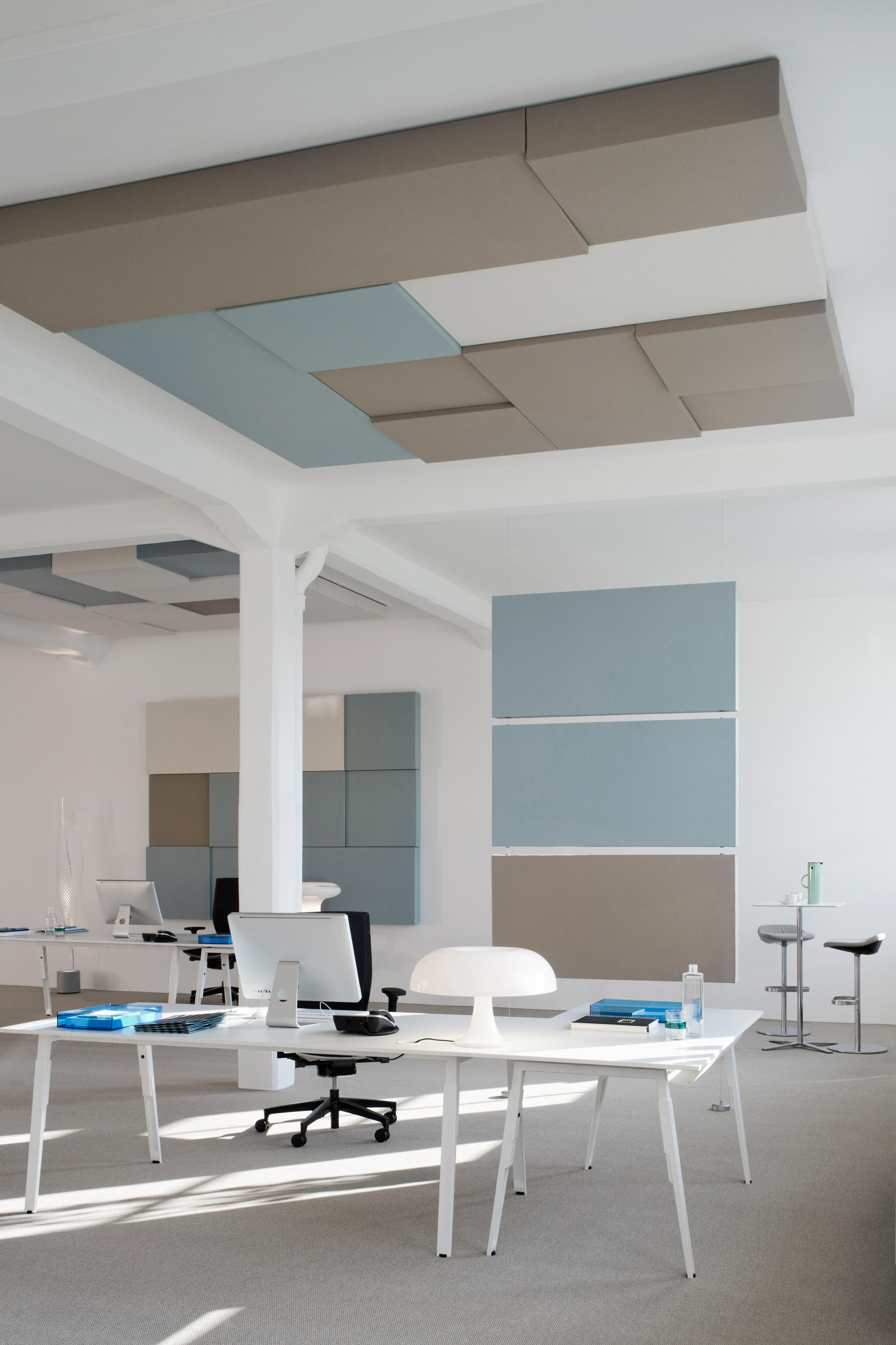 Cas Cube Acoustic Ceiling Systems From Carpet Concept