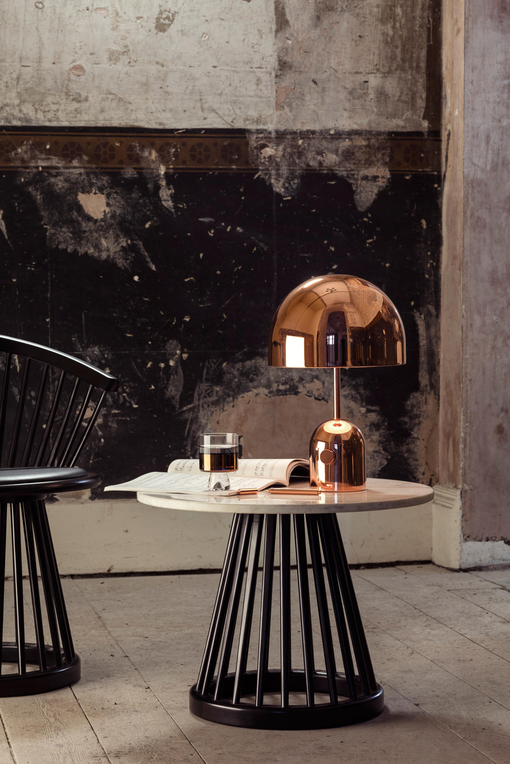 FAN CHAIR BLACK Lounge chairs from Tom Dixon