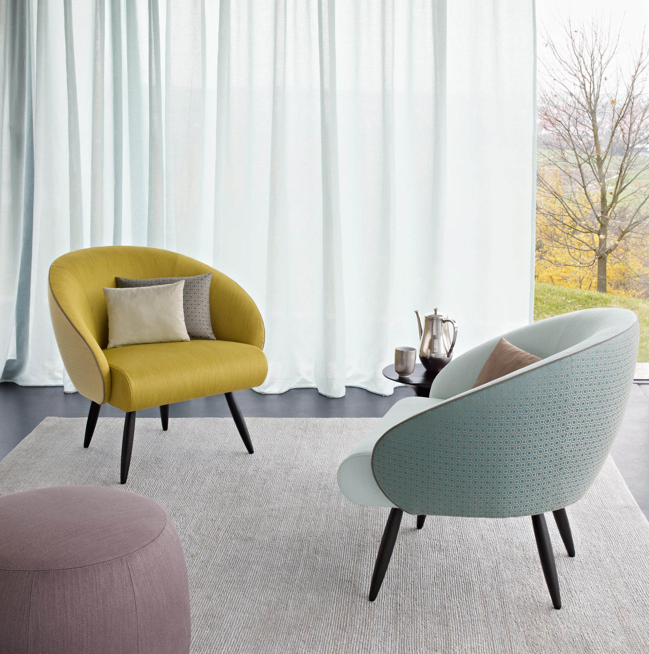 Club chair lounge chairs from zimmer rohde architonic for Seating room furniture