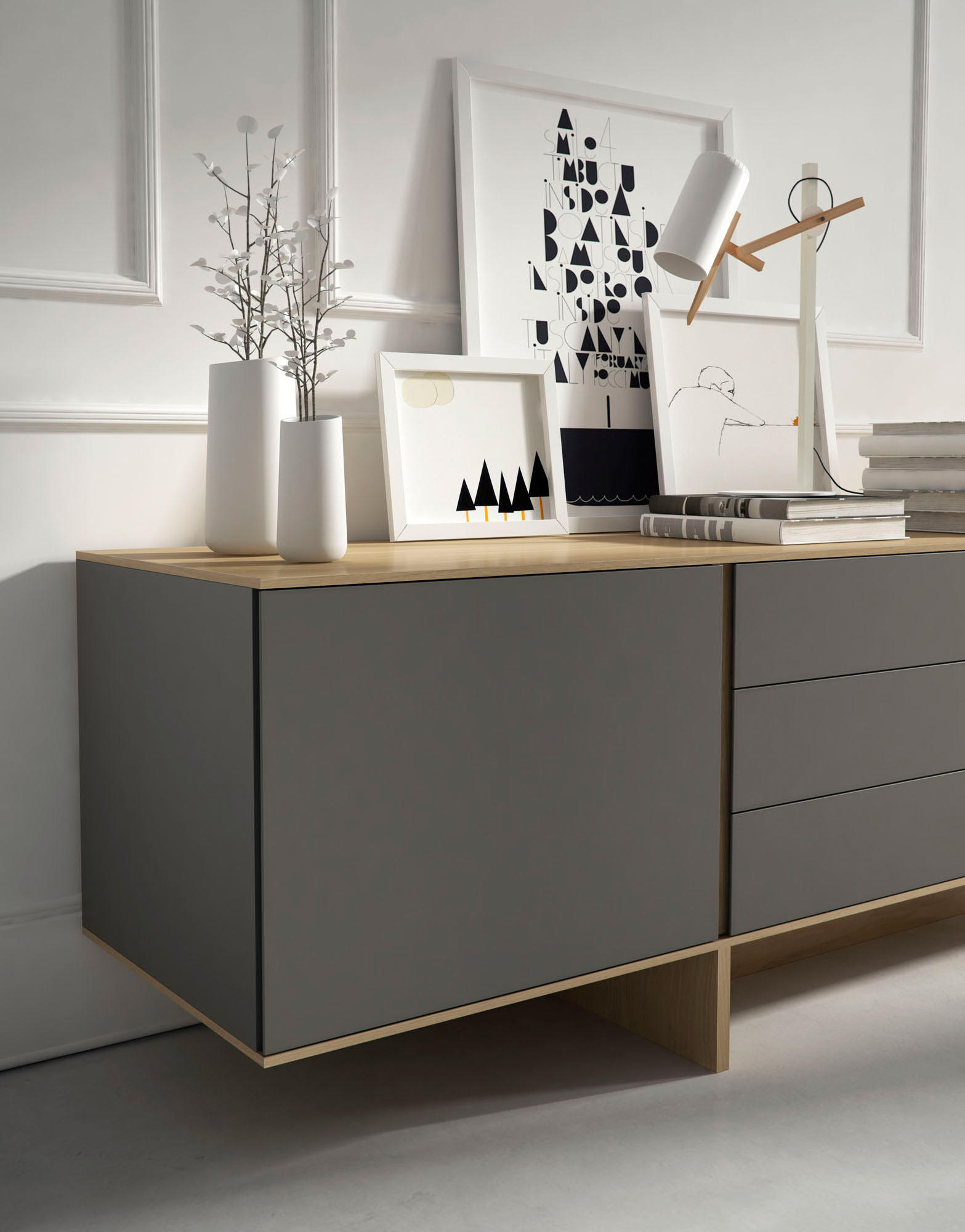 stijl sideboard sideboards from arlex design architonic. Black Bedroom Furniture Sets. Home Design Ideas