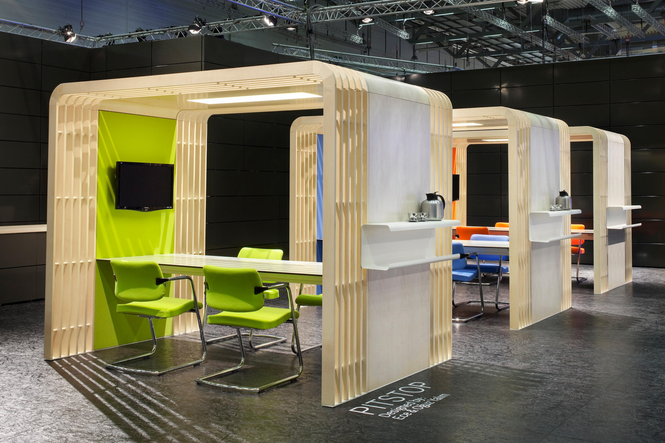 Modular Exhibition Stands Group : Pitstop office pods from nurus architonic