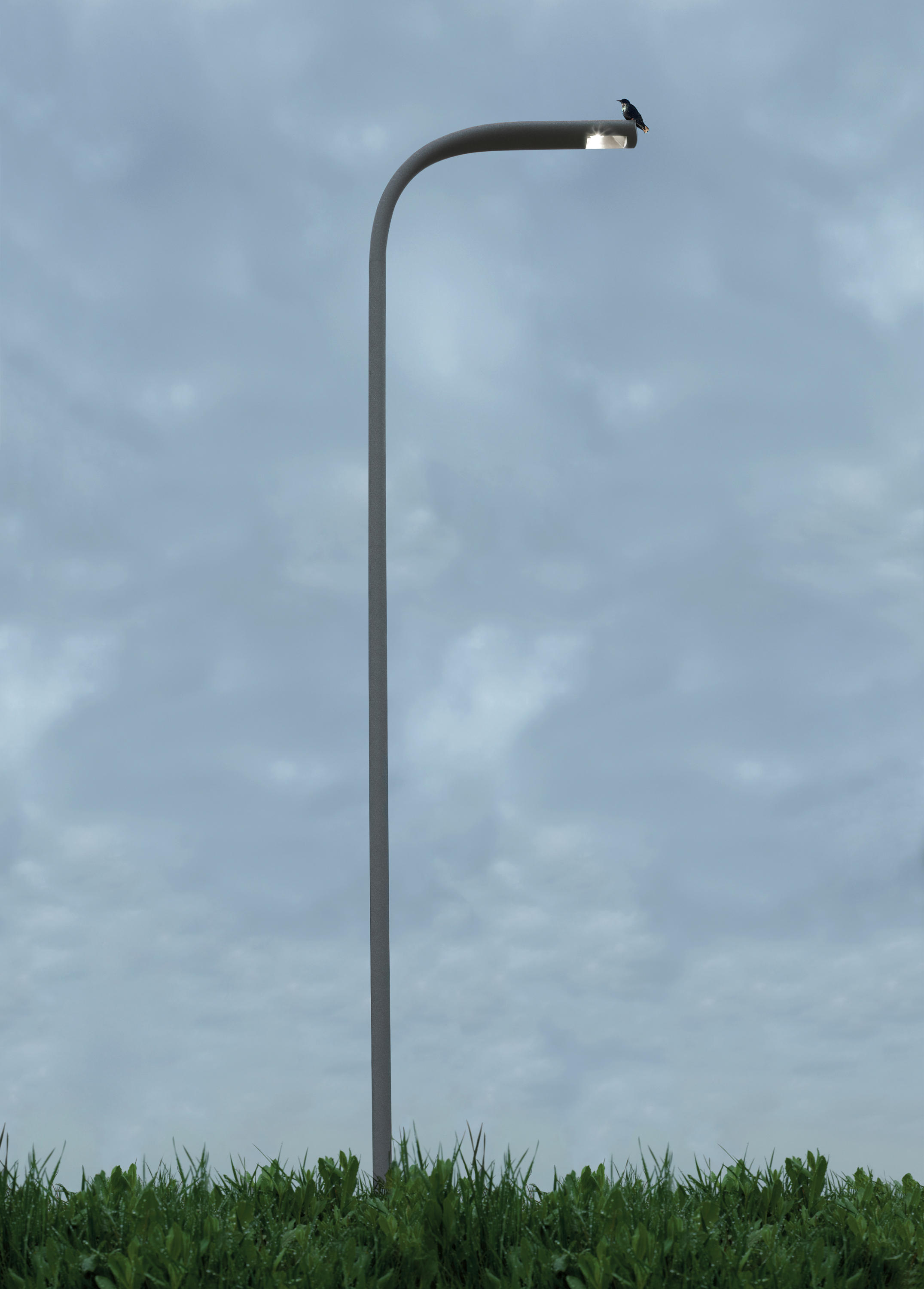 Indicta pole led lights from artemide outdoor architonic indicta pole by artemide outdoor workwithnaturefo