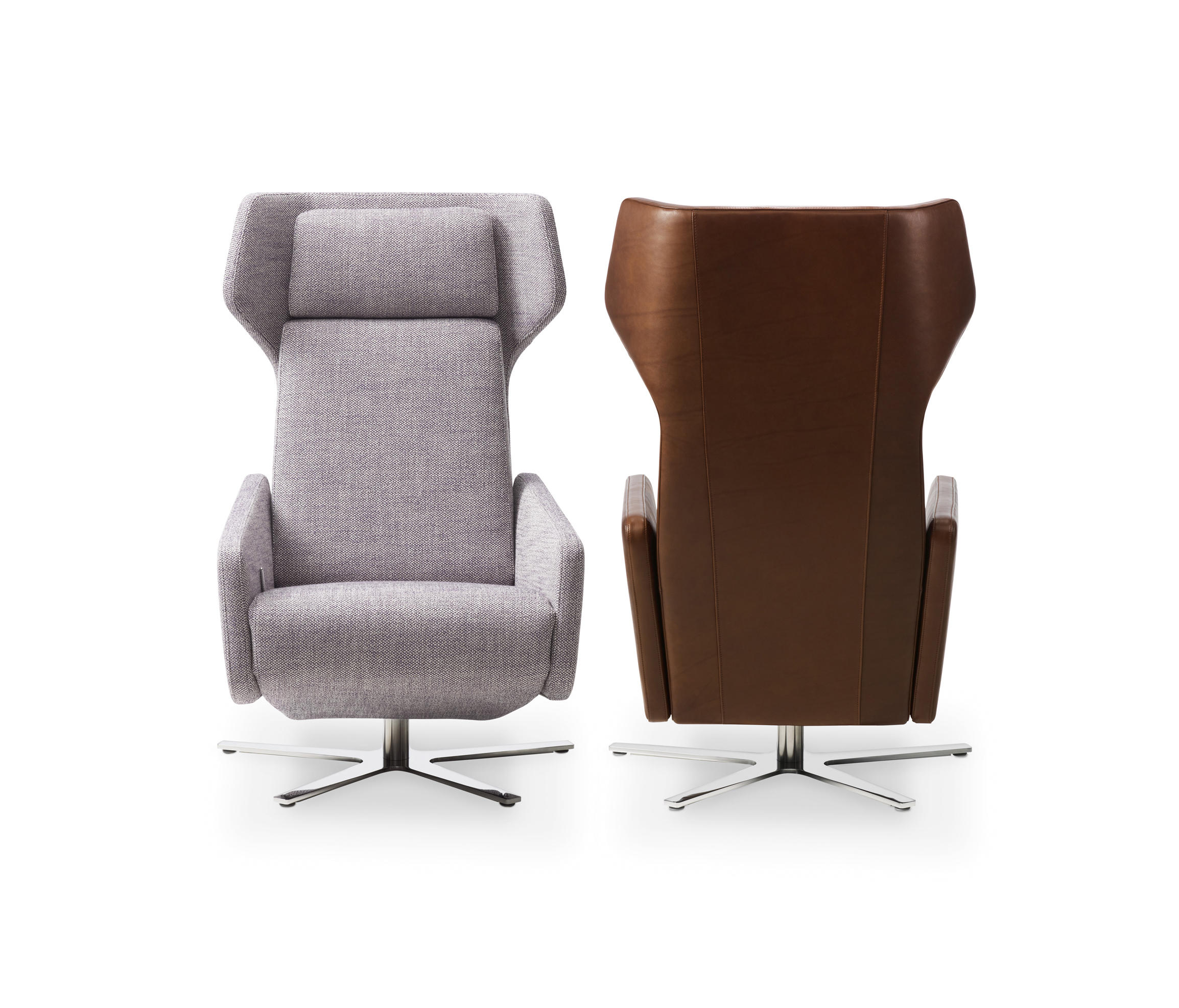 Model 1303 nano recliners by intertime architonic for Ohrensessel couch