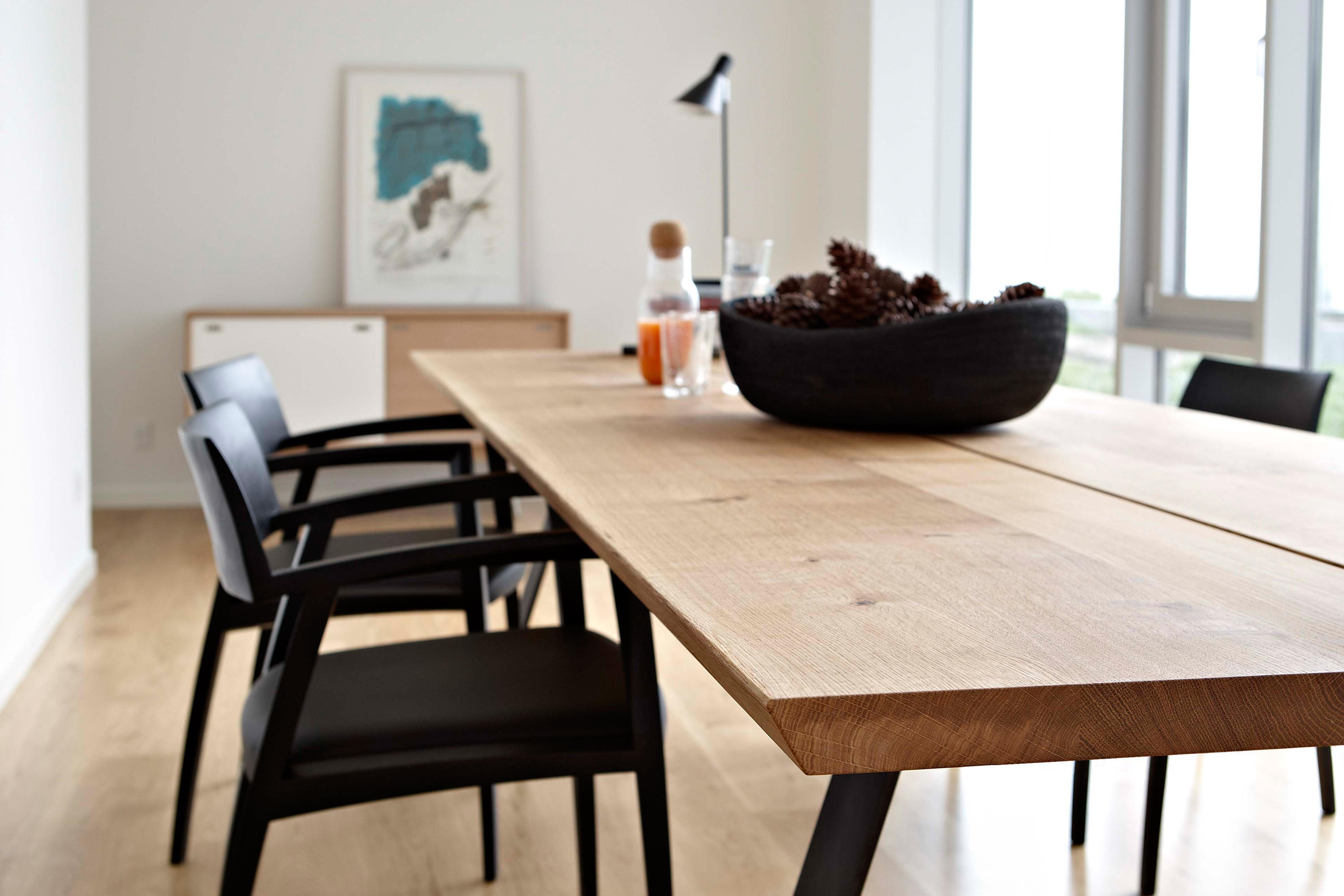 Gm plank table dining tables from naver collection