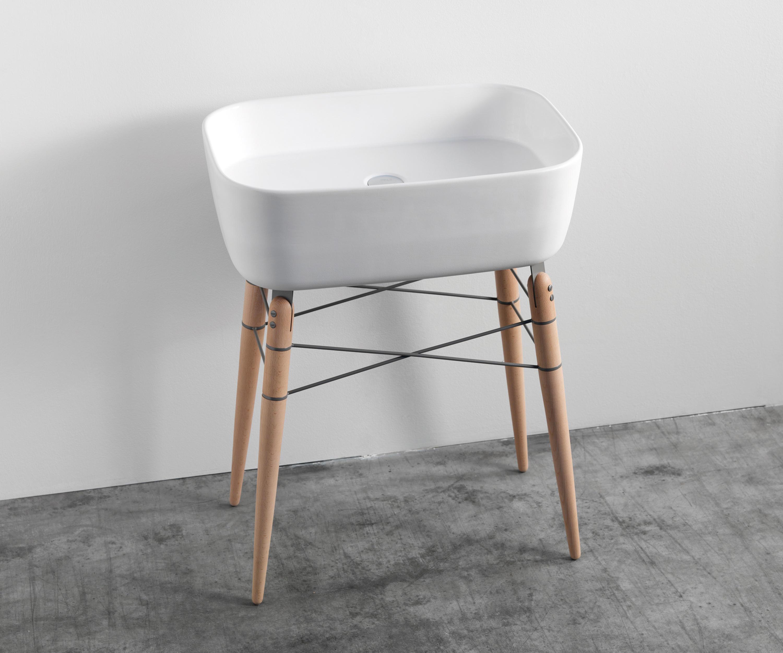 ray - waschtische von ex.t | architonic, Badezimmer ideen