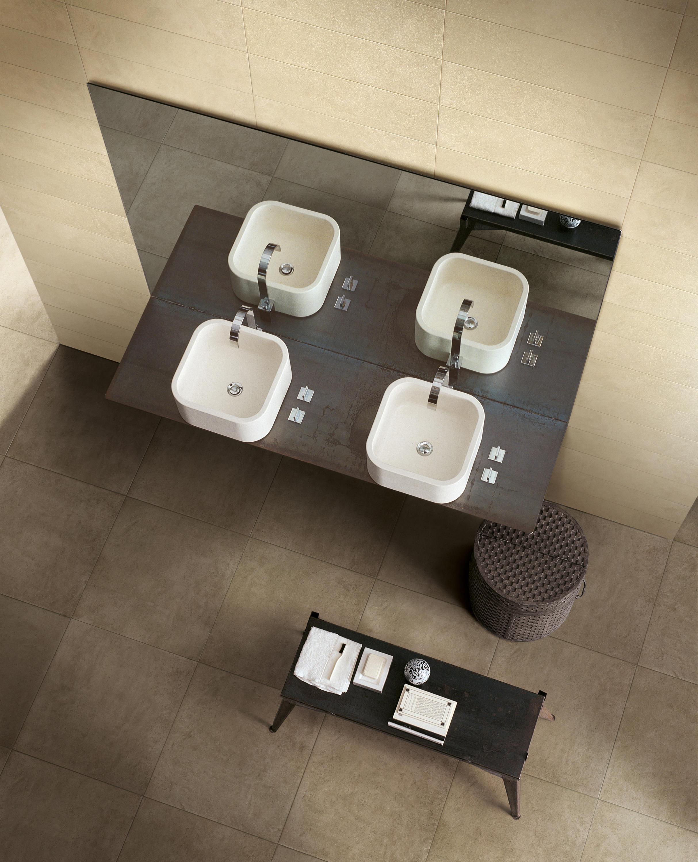 Unique blanc piastrelle mattonelle per pavimenti di rex ceramiche artistiche by florim - Rex piastrelle bagno ...