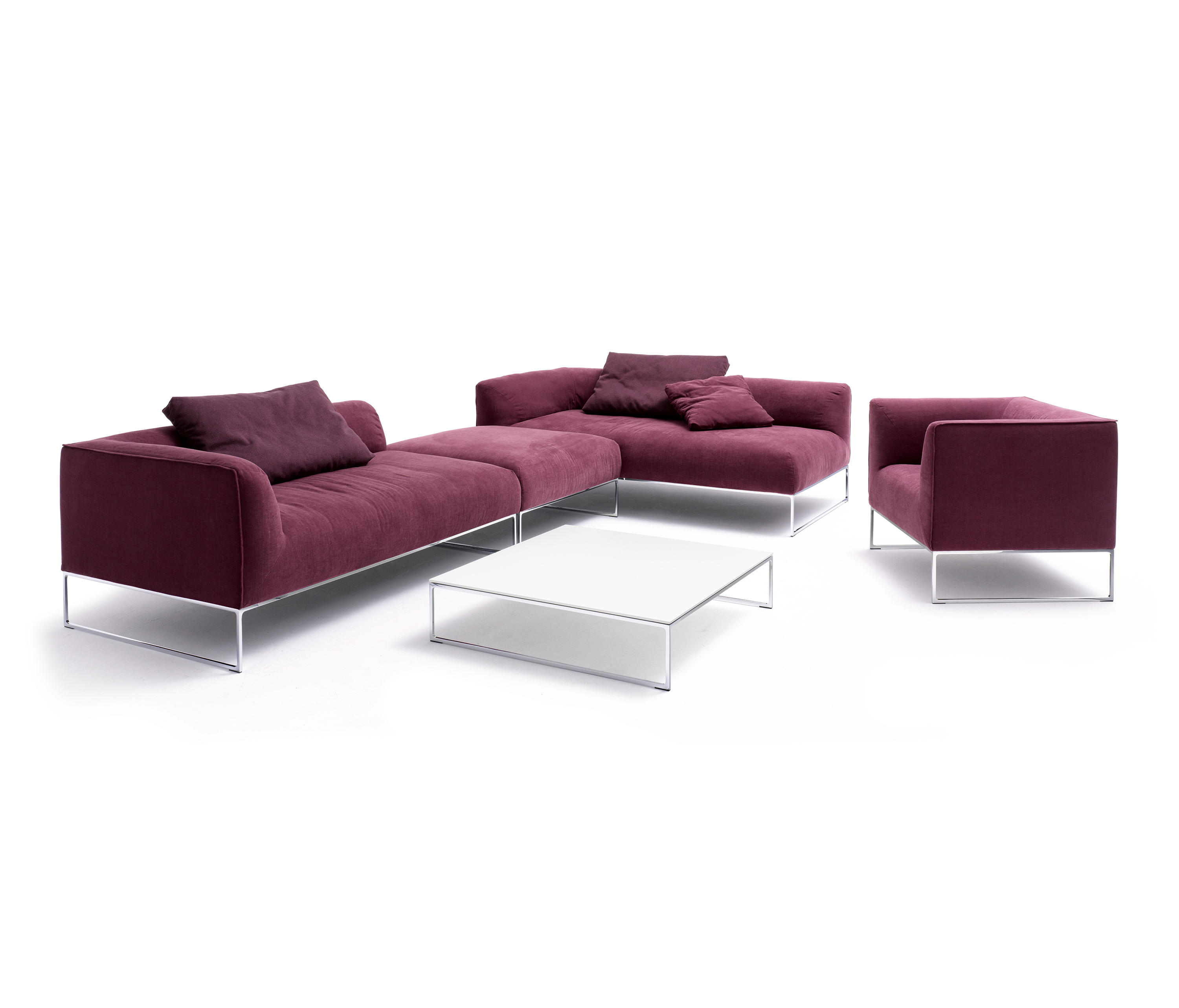 mell lounge lounge sofas by cor architonic. Black Bedroom Furniture Sets. Home Design Ideas